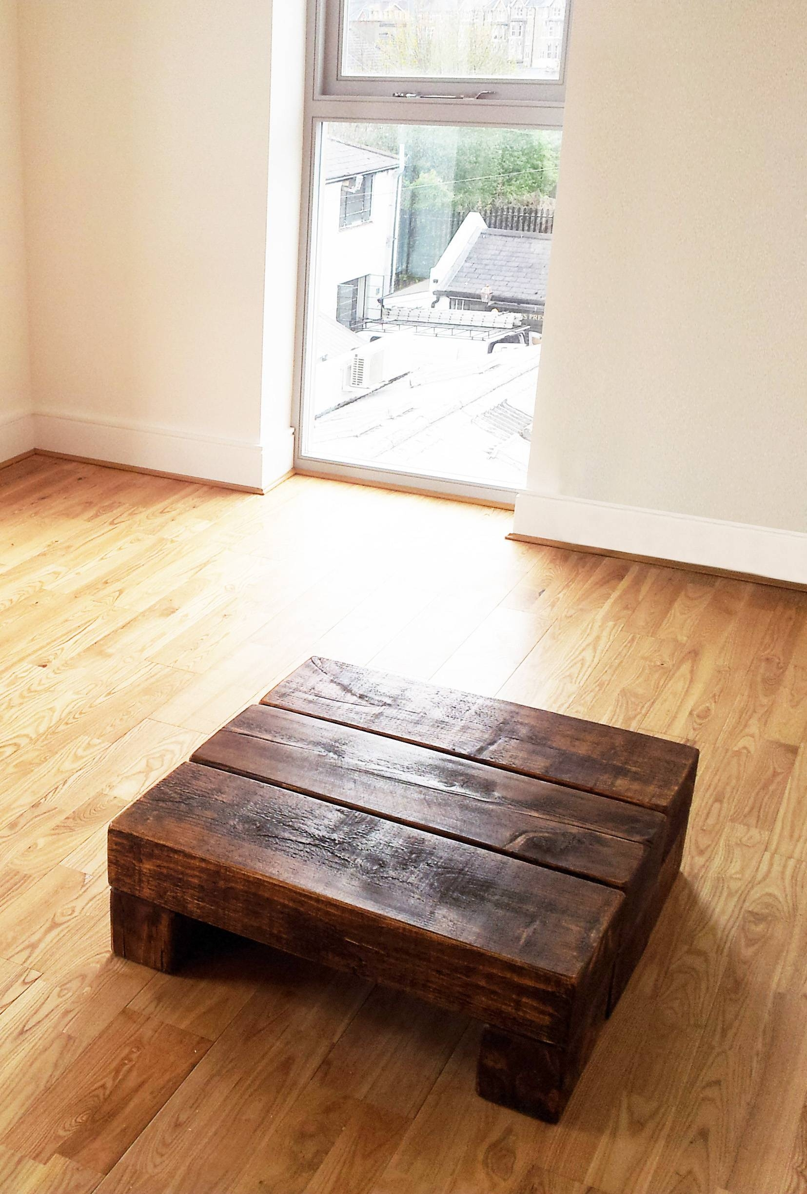 Step Coffee Table – The Cool Wood Company Intended For Chunky Rustic Coffee Tables (View 22 of 30)