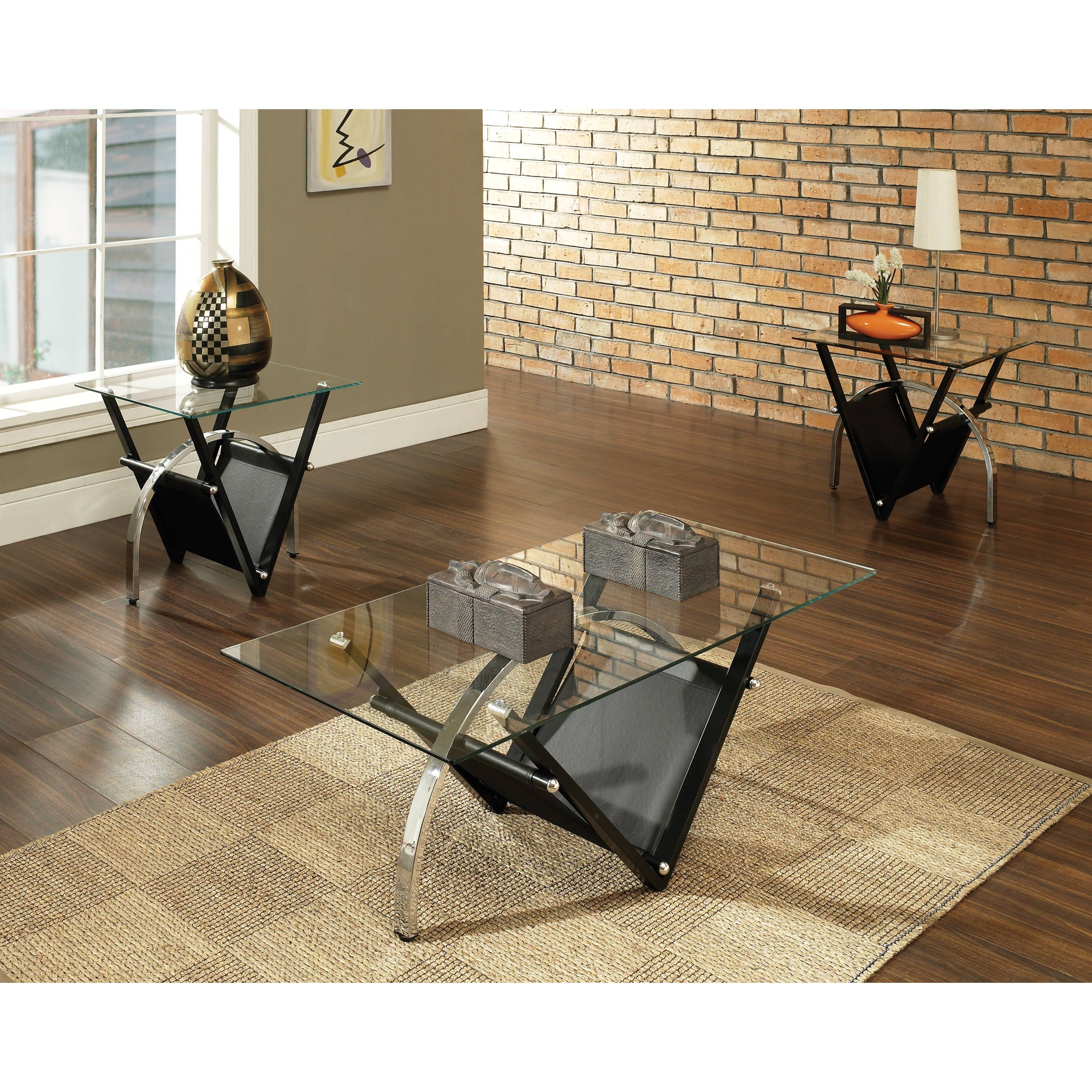 Steve Silver Furniture Tribecca Coffee Table Set Reviews Wayfair pertaining to Wayfair Coffee Table Sets (Image 30 of 30)