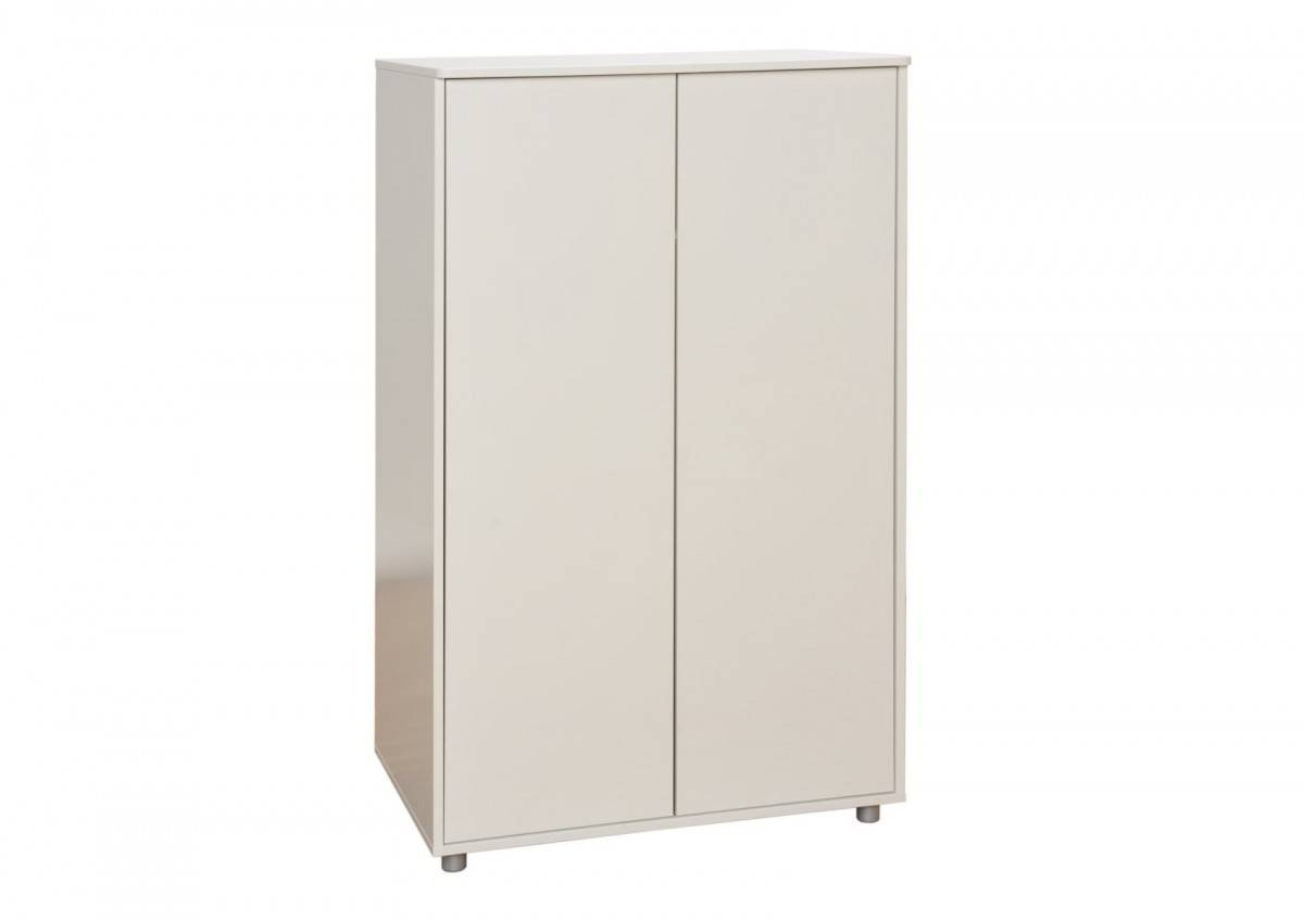 Stompa Unos Short Wardrobe - White - Wardrobes - Furniture intended for Short Wardrobes (Image 12 of 15)