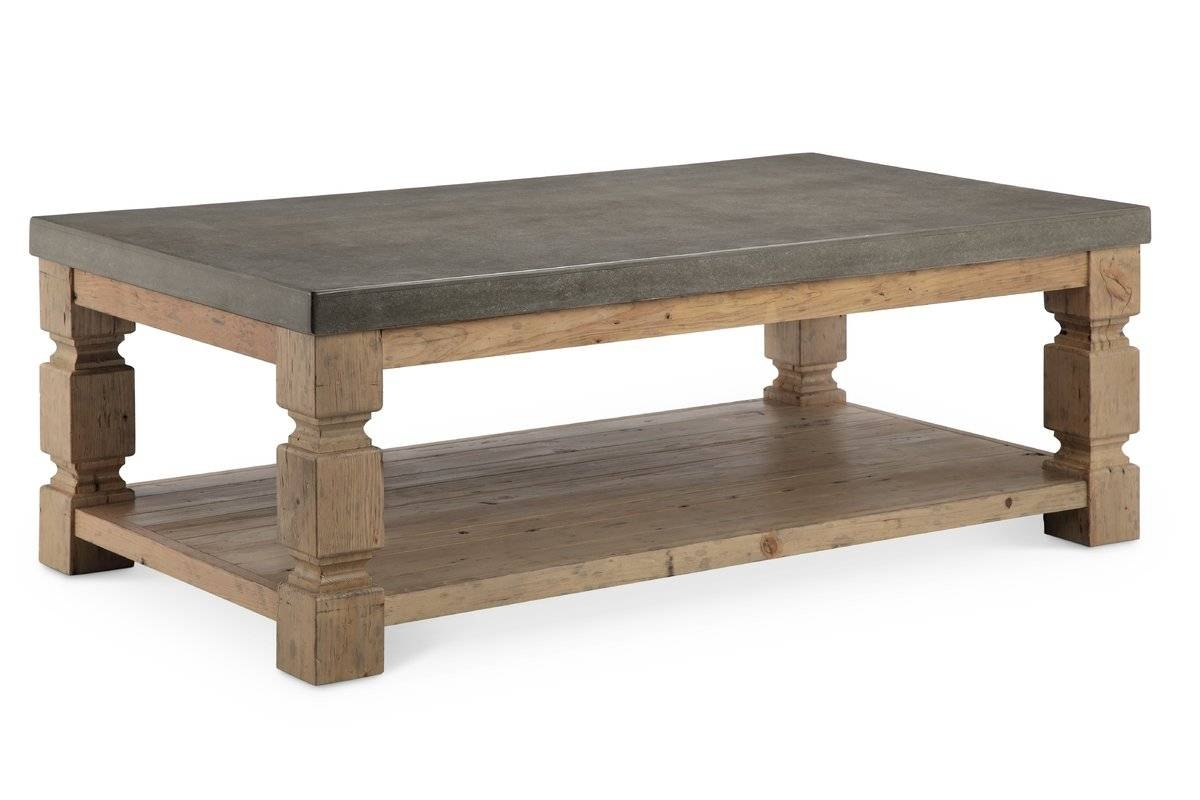 Stone & Slate Coffee Tables You'll Love | Wayfair with regard to Round Slate Top Coffee Tables (Image 25 of 30)