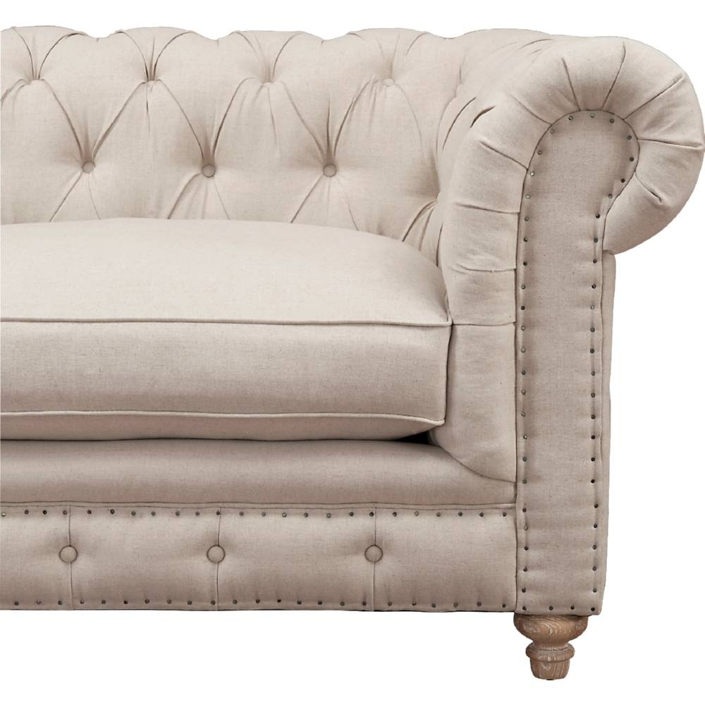 Storage Canterbury Leather Chesterfield Style 3 Seater Sofa in Canterbury Leather Sofas (Image 28 of 30)