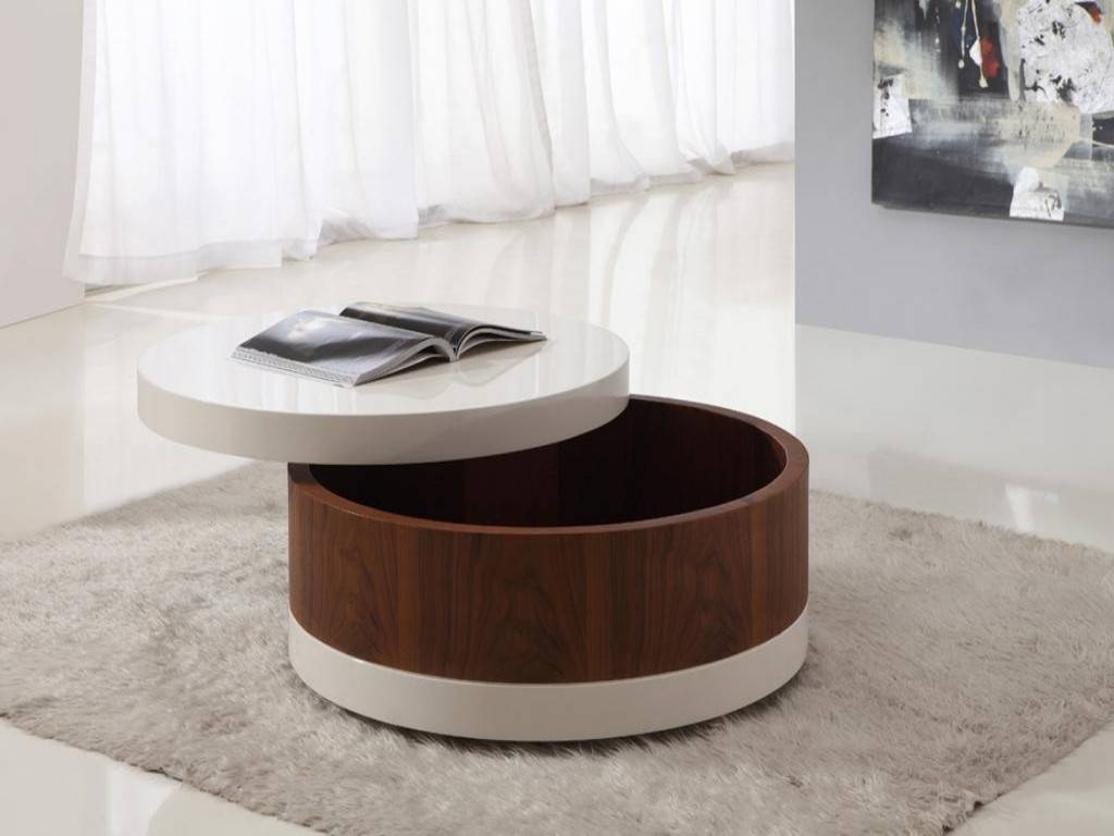Storage Coffee Tables In The Model Of Cabinet Like | The New Way in Round Storage Coffee Tables (Image 29 of 30)