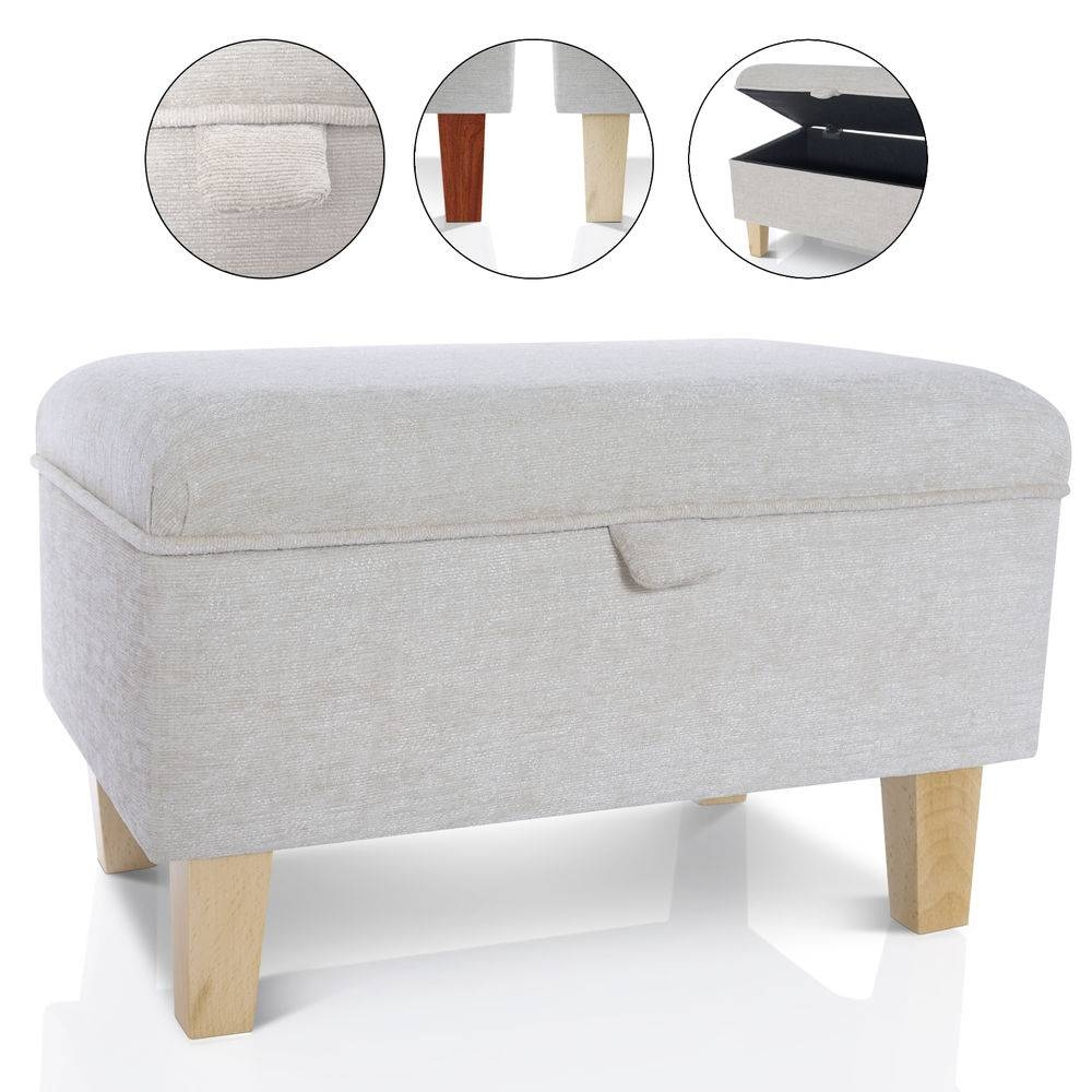 Storage Footstool | Ebay with regard to Large Footstools (Image 28 of 30)