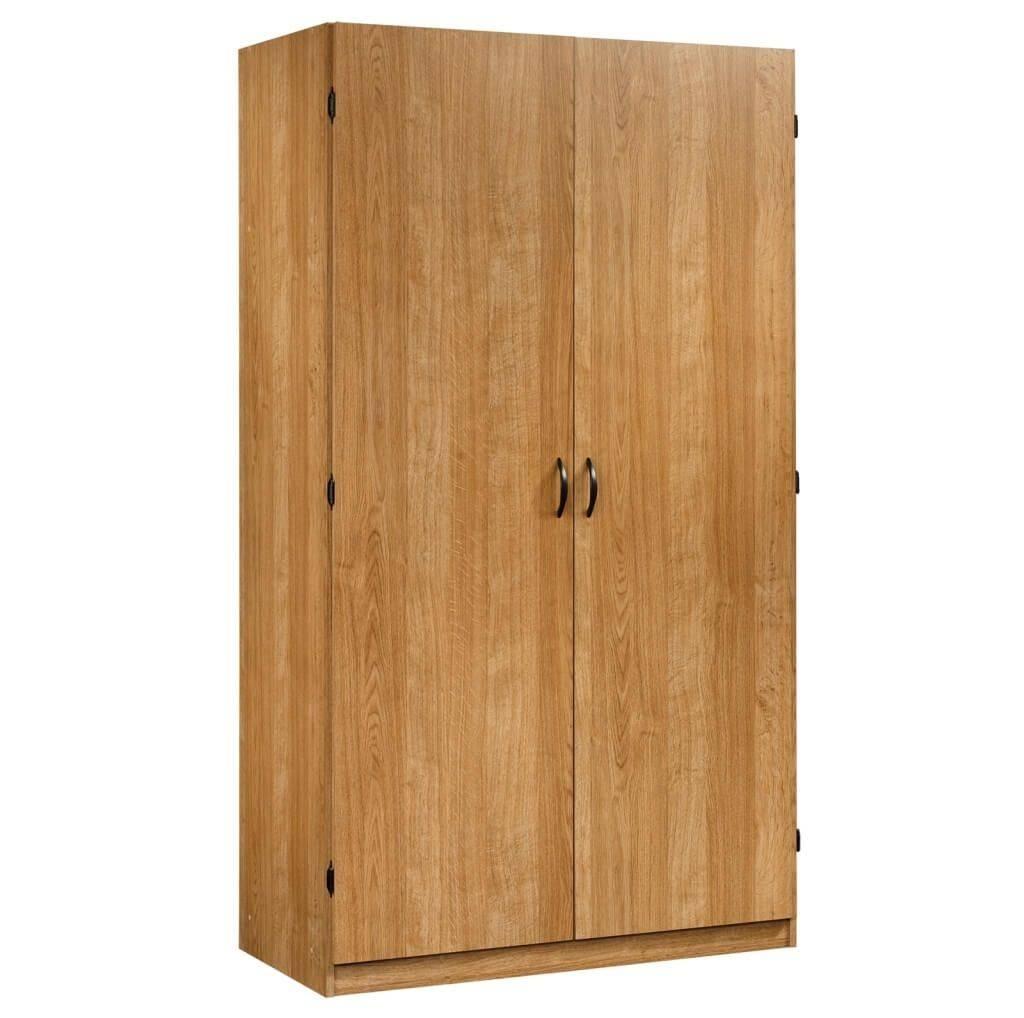 Storage & Organization: Exclusive Wooden Wardrobe Storage With regarding Cheap Wood Wardrobes (Image 12 of 15)