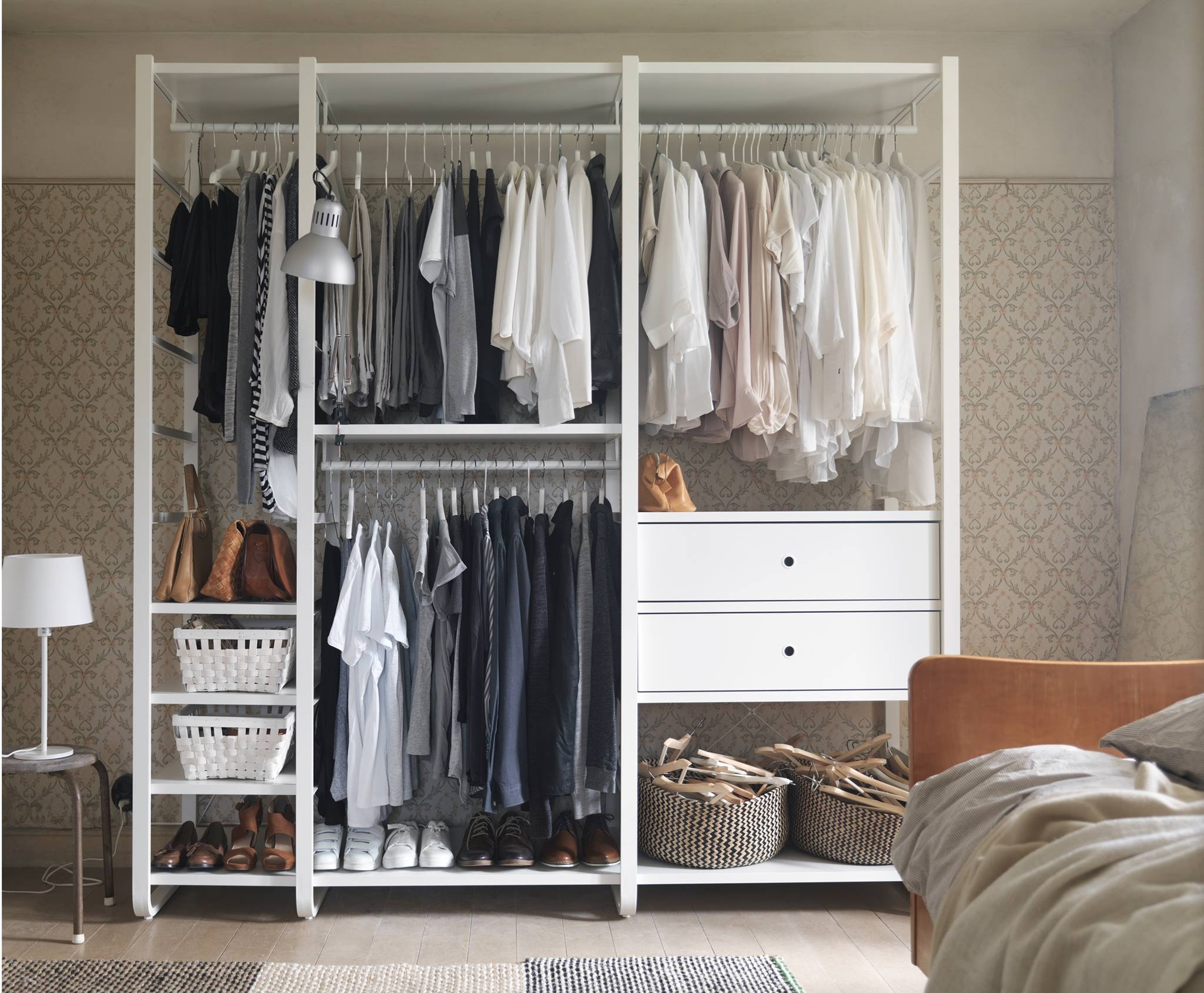 Storage Systems | Ikea in Wardrobe Double Hanging Rail (Image 20 of 30)