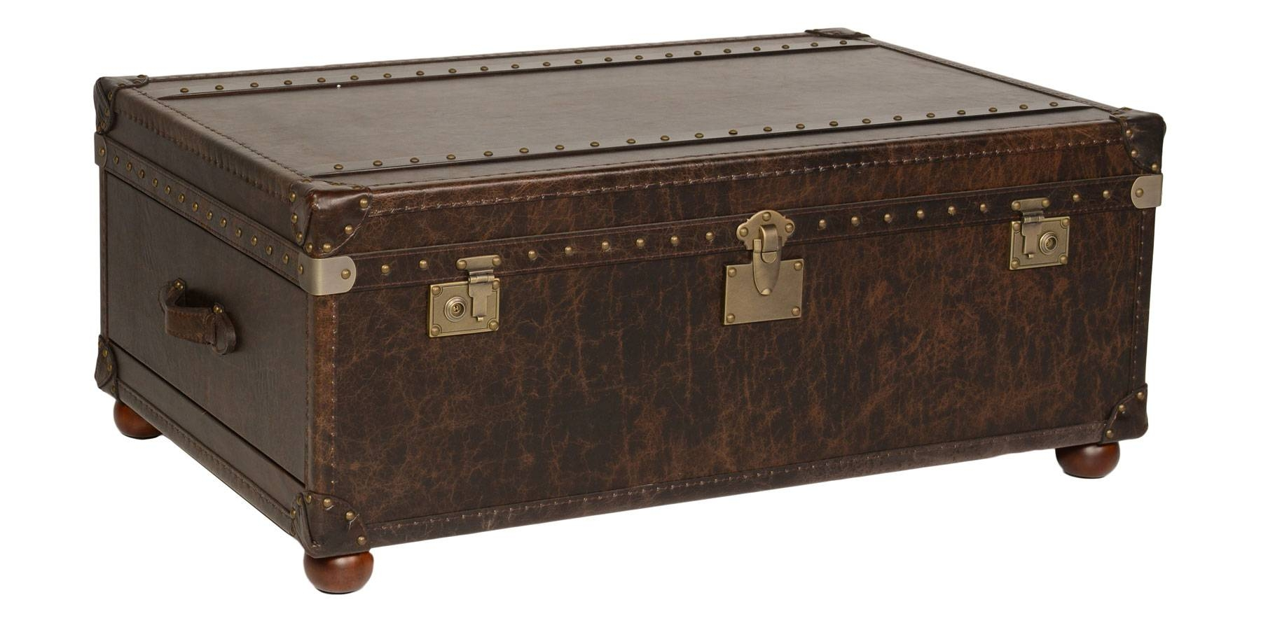 Storage Trunks And Chests | Club Furniture with Steamer Trunk Stainless Steel Coffee Tables (Image 23 of 30)
