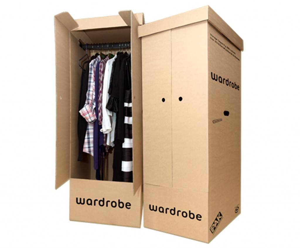 Storepak Wardrobe Boxes | Wardrobe Cartons regarding Telephone Box Wardrobes (Image 15 of 15)