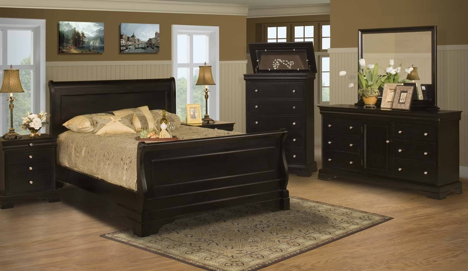 Stratford Black Cherry 5 Drawer Lift Top Chest For $ (View 21 of 30)