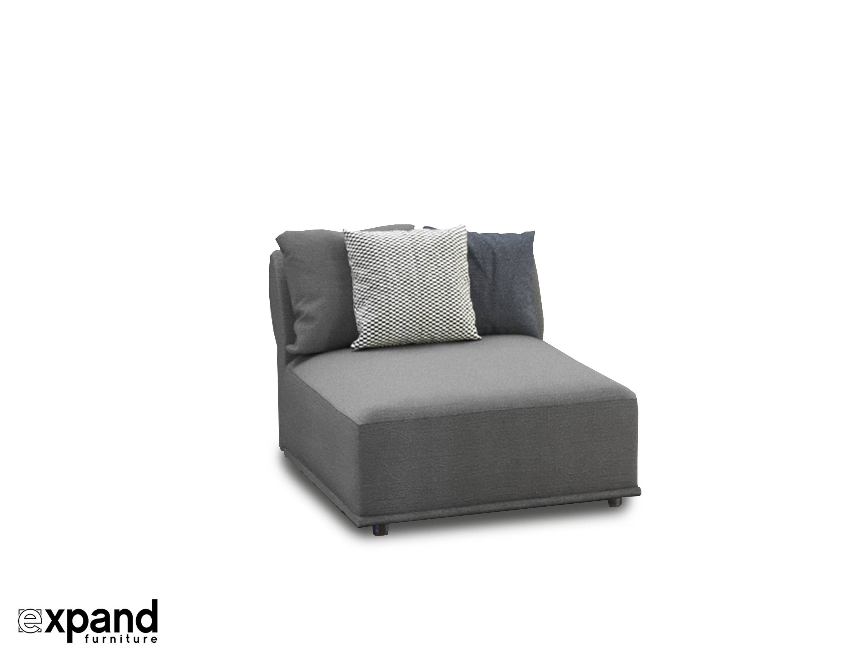 Stratus Sofa: Single Modular Seat | Expand Furniture - Folding inside Single Chair Sofa Bed (Image 28 of 30)