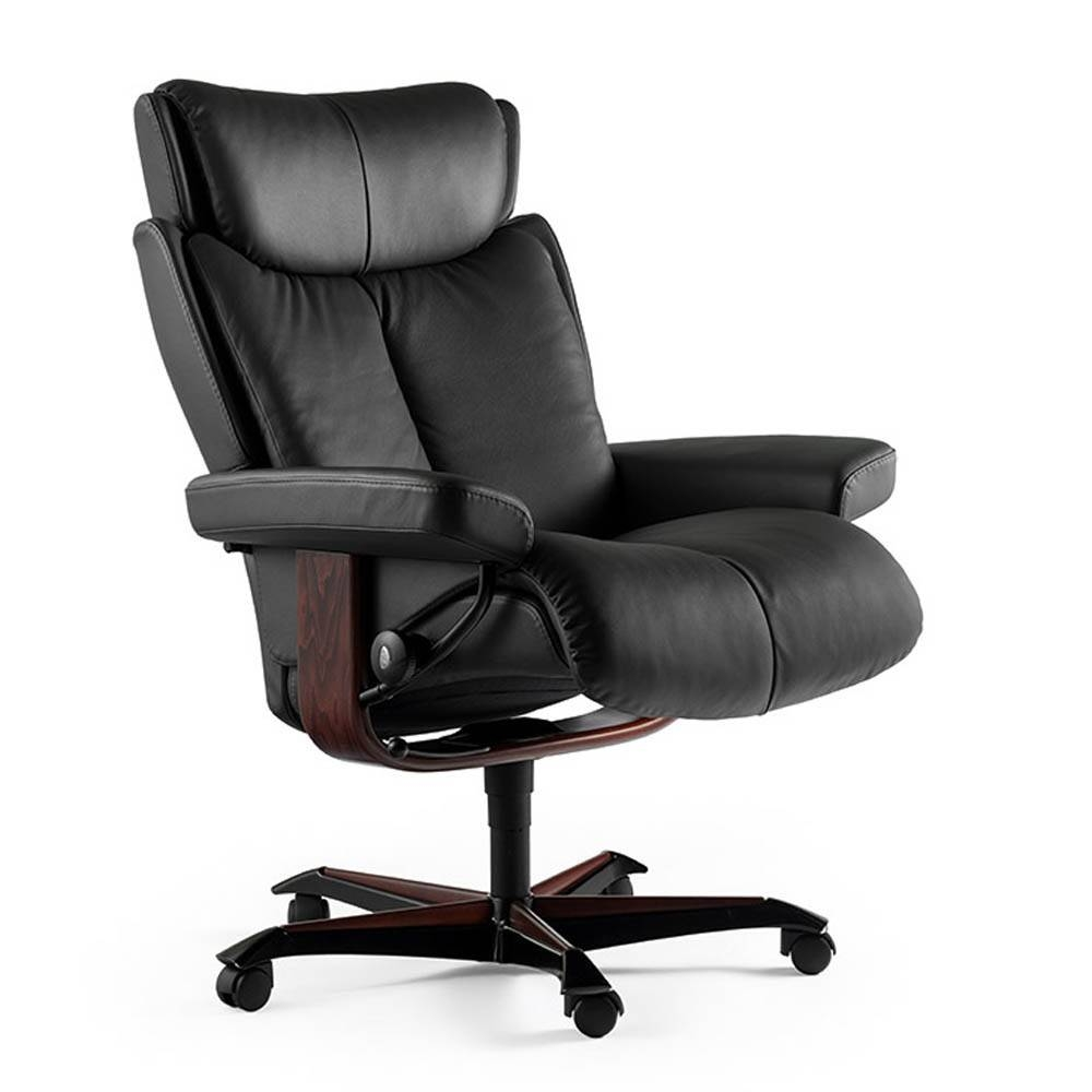 Stressless Office Chair - Leather - Sofa & Chairs | Julian Foye with Sofa Desk Chairs (Image 15 of 15)