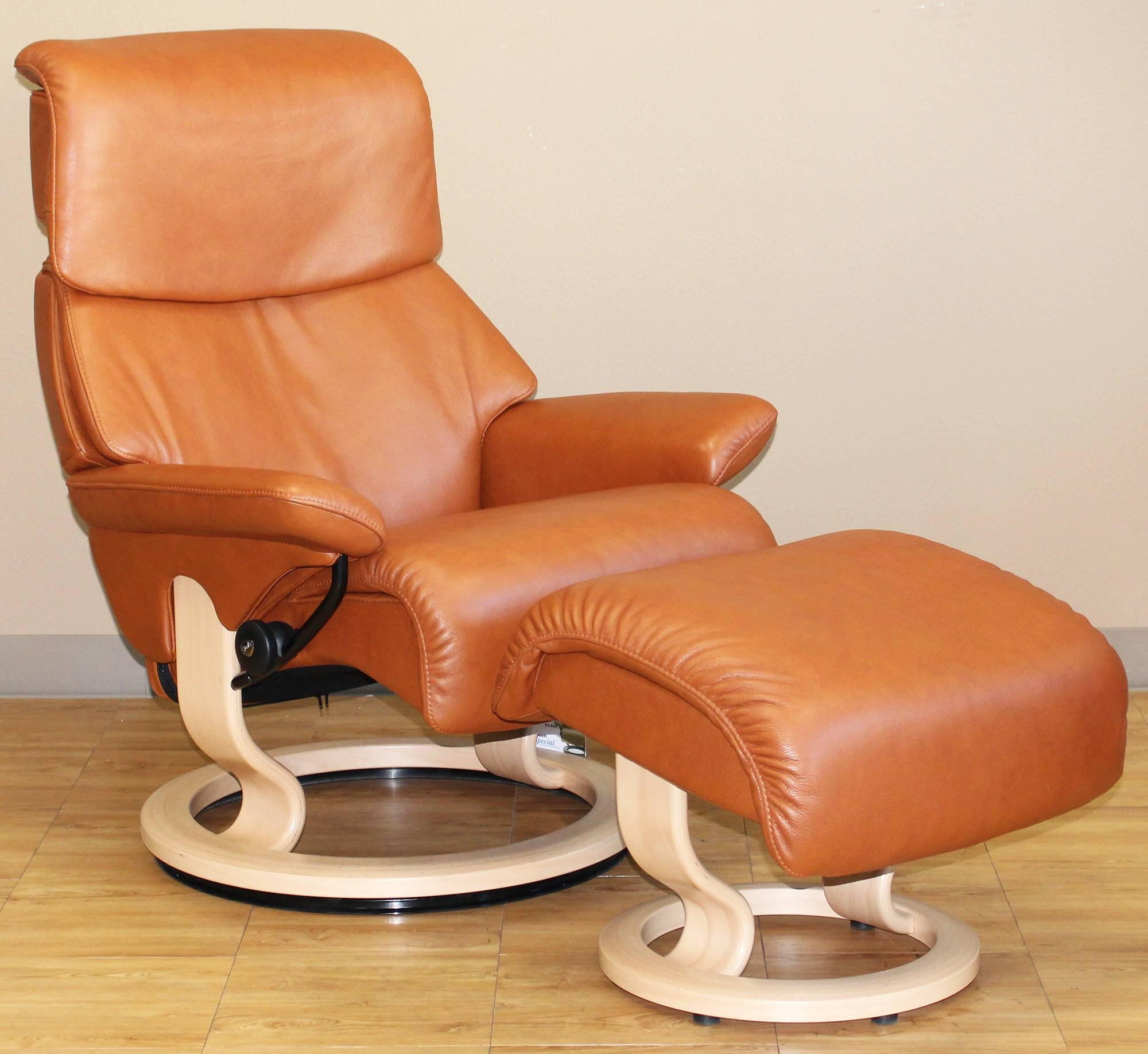 Stressless Royalin Tigereye Leatherekornes - Stressless for Ekornes Sectional Sofa (Image 25 of 30)