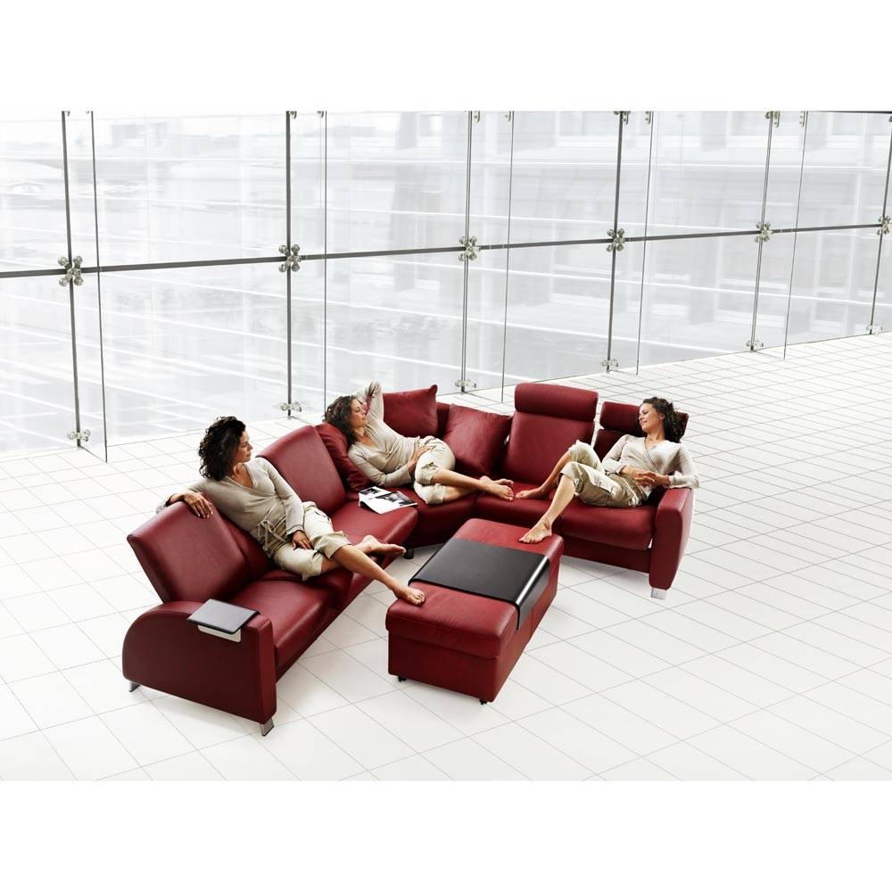 Stresslessekornes Stressless Arion High Back Reclining 3 Seat for Ekornes Sectional Sofa (Image 27 of 30)