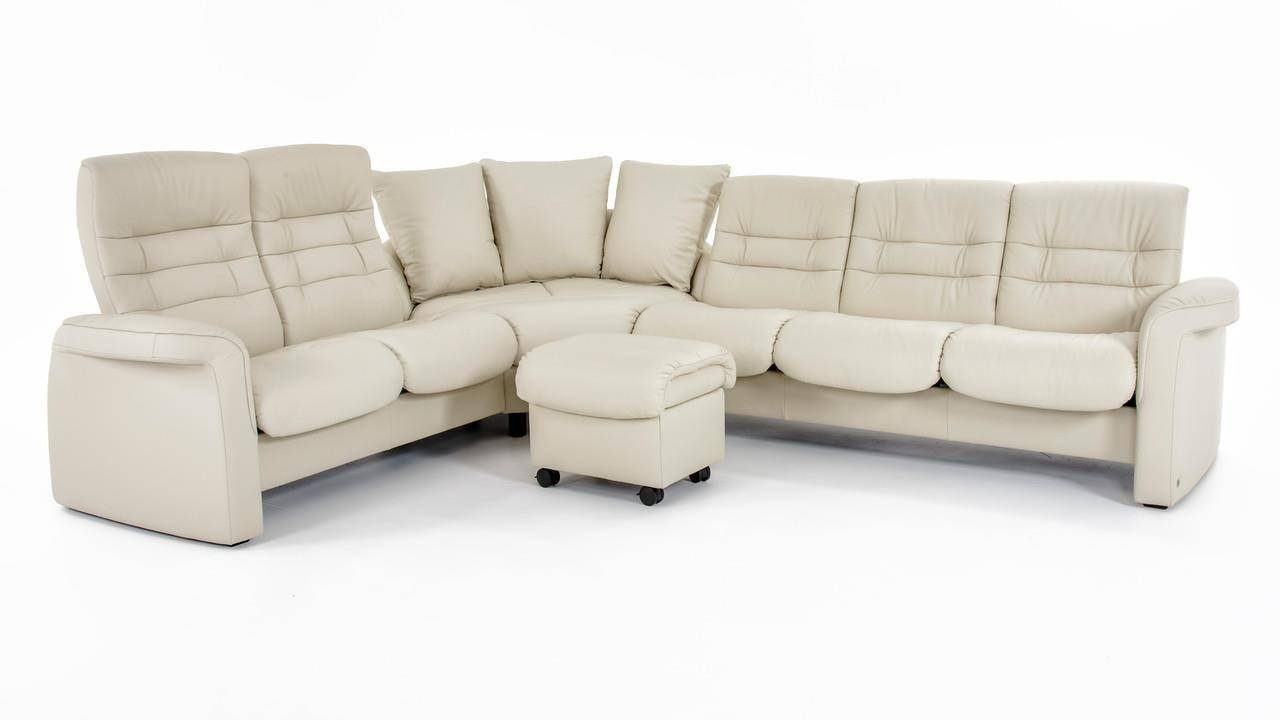 Stresslessekornes Stressless Sapphire Four Piece Reclining pertaining to Ekornes Sectional Sofa (Image 29 of 30)
