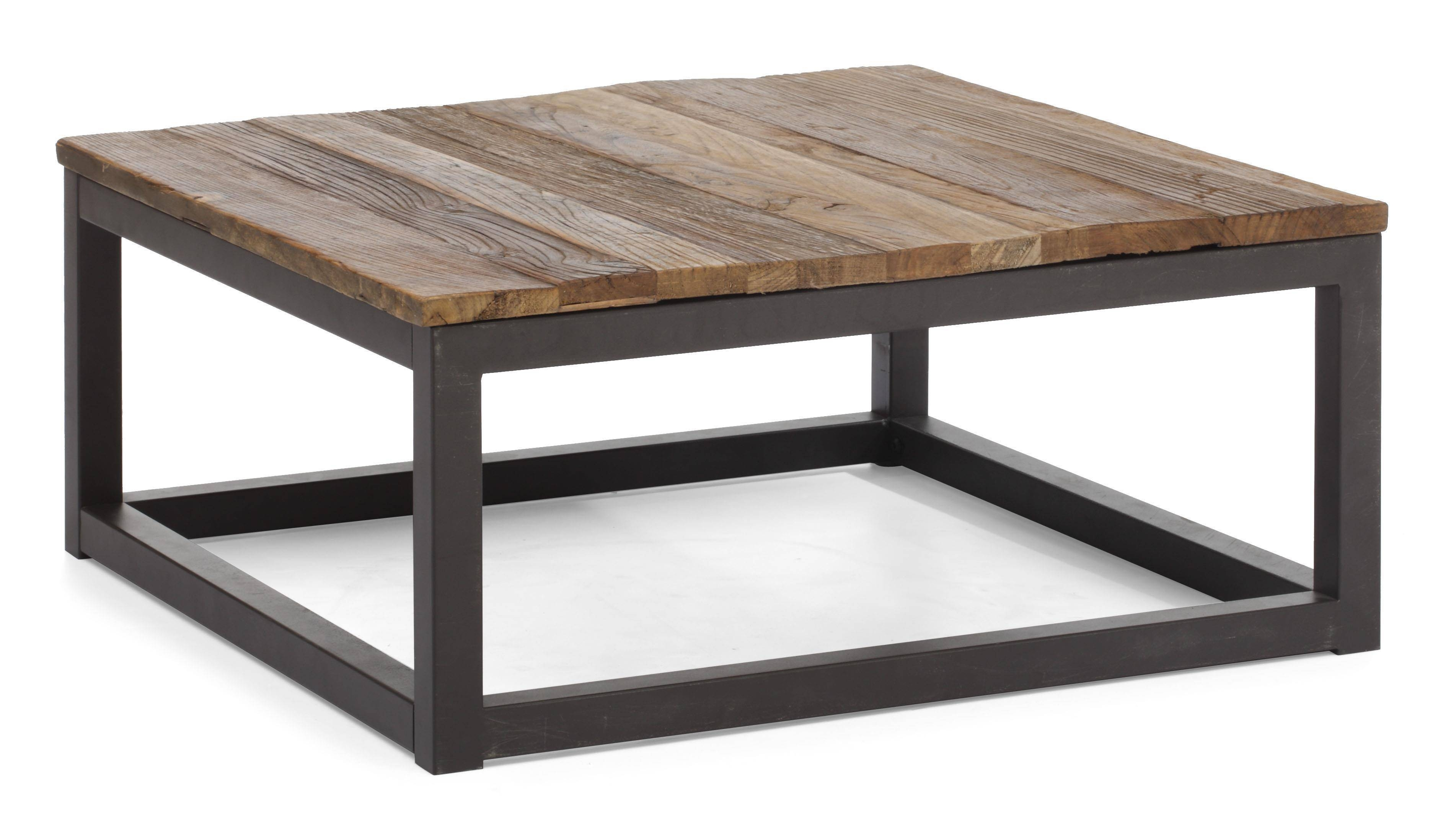 Strong And Sturdy Modern Coffee Table Large Square Coffee Table with regard to Large Square Wood Coffee Tables (Image 29 of 30)