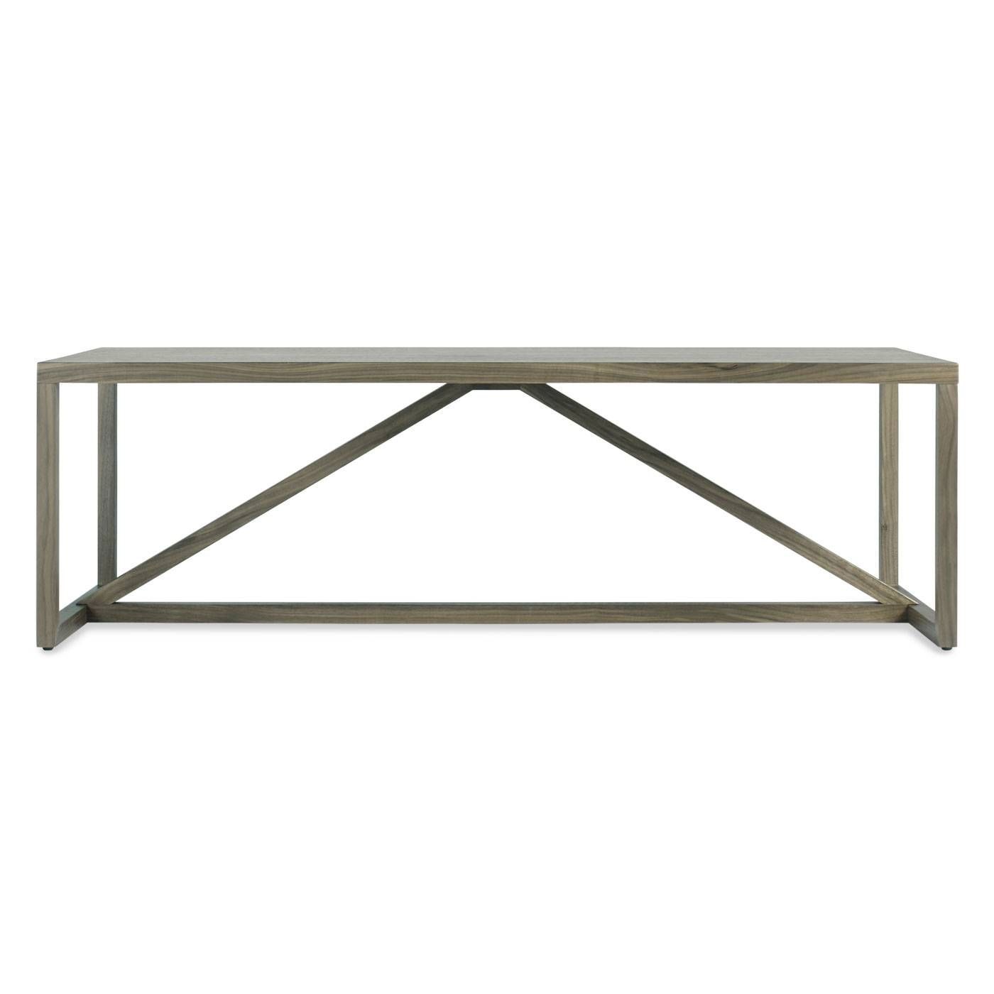 Strut Coffee Table   Square Wood Coffee Table   Blu Dot in Wood Chrome  Coffee Tables. 30 Best Collection of Wood Chrome Coffee Tables