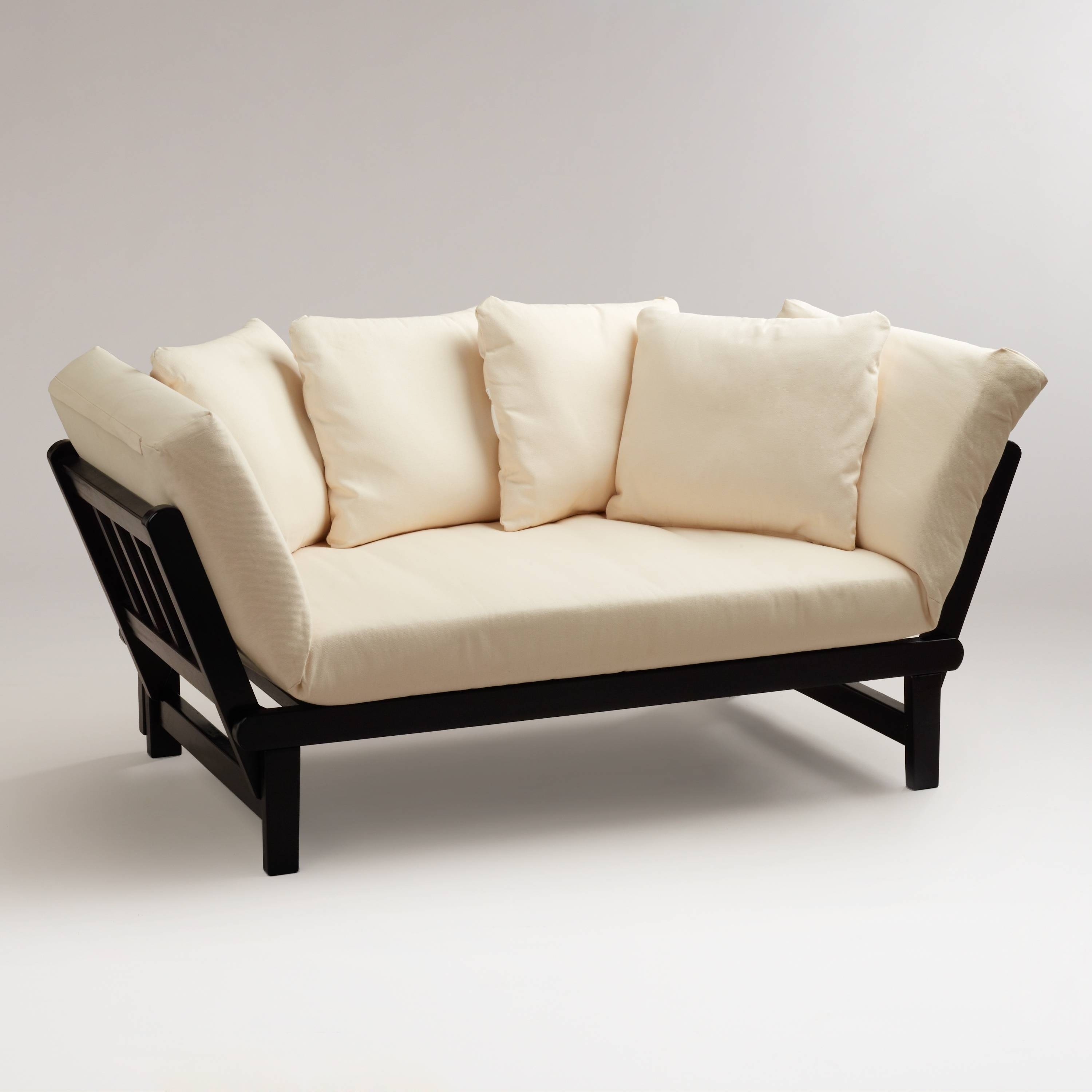 Studio Day Sofa | World Market within Cushion Sofa Beds (Image 29 of 30)