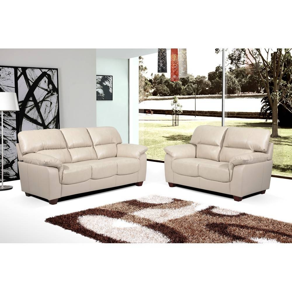Stunning Ivory Leather Sofas 55 For With Ivory Leather Sofas within Ivory Leather Sofas (Image 25 of 30)