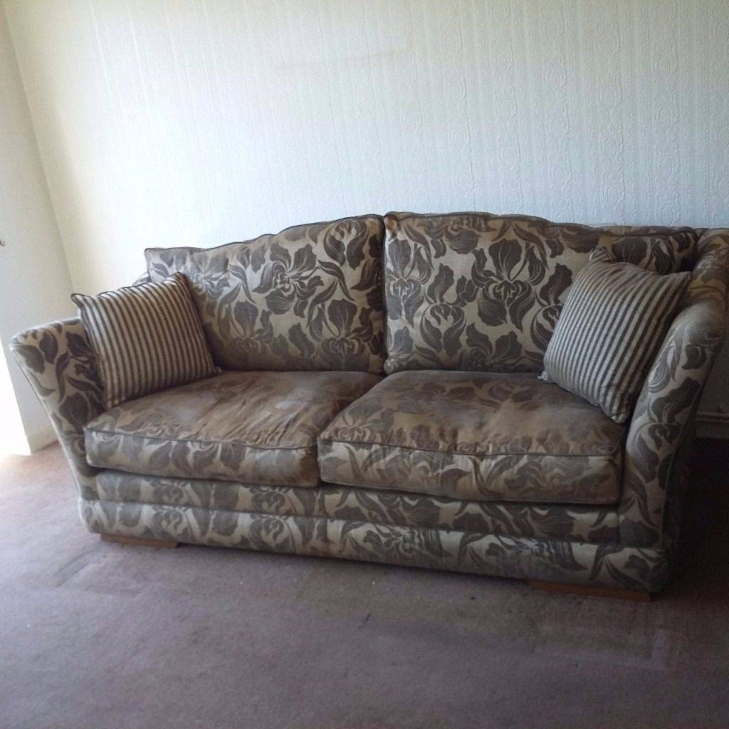 Stunning Large 4 Seater Sofa Plus Chair. | In Bridgend | Gumtree inside Large 4 Seater Sofas (Image 30 of 30)