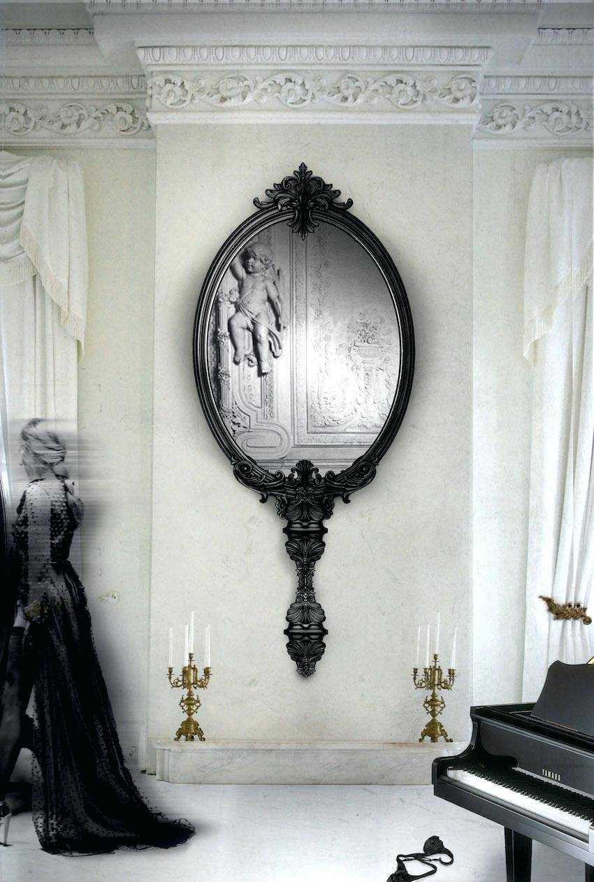 Stunningly Polished Wall Mirrors For A Unique Home Decor 3 inside Unusual Wall Mirrors (Image 18 of 25)