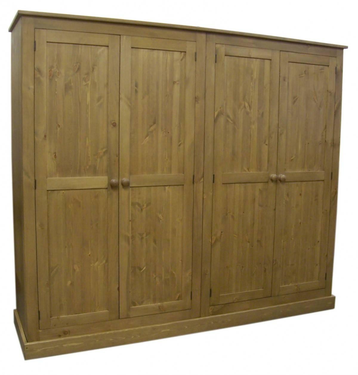 Style 4 Door Wardrobe inside 4 Door Wardrobes (Image 15 of 15)