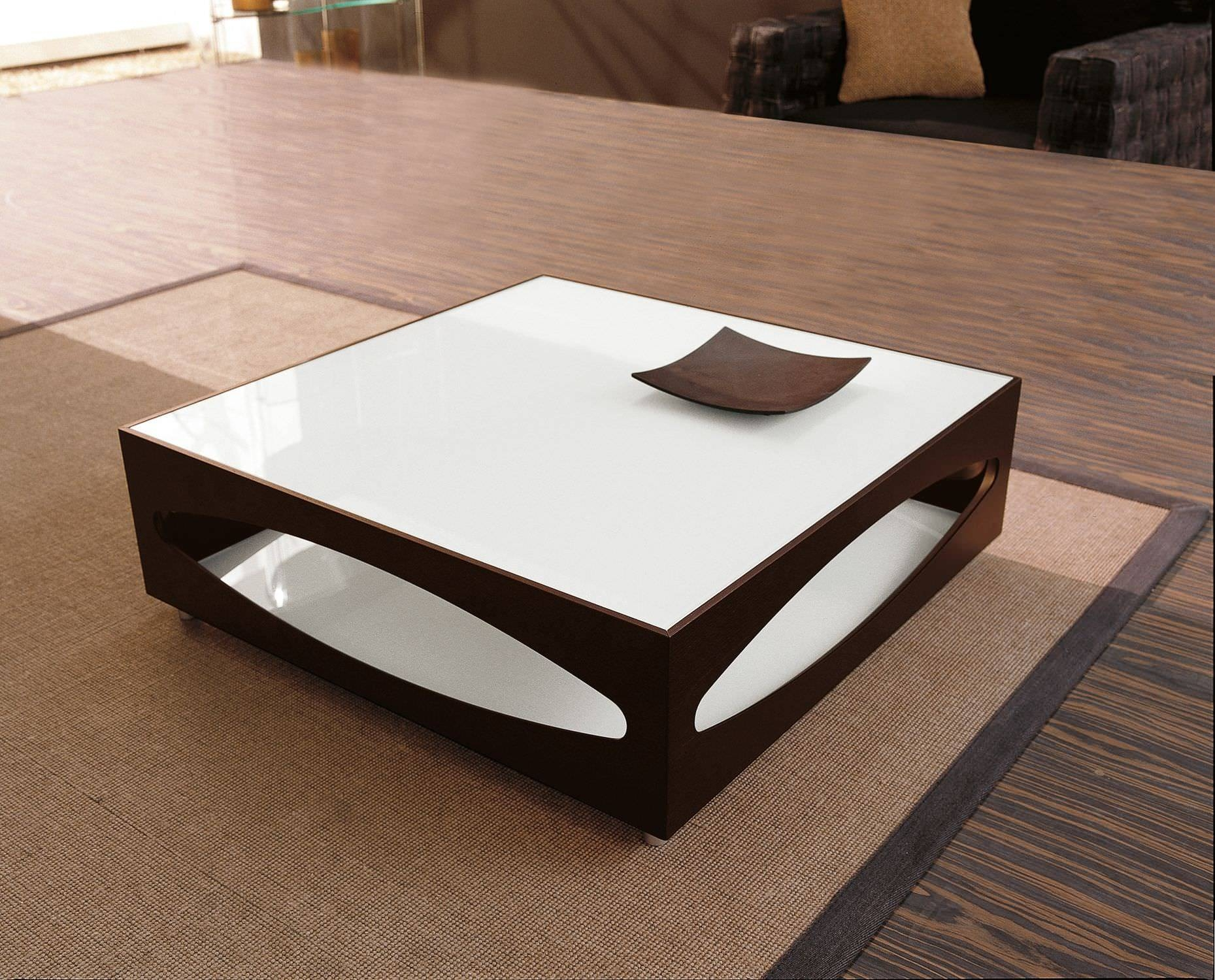 Stylish Contemporary Coffee Tables Stainless Steel Construction in Square Shaped Coffee Tables (Image 28 of 30)