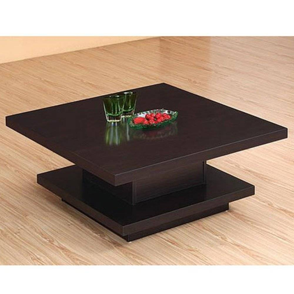 Stylish Modern Square Coffee Table With Coffee Table Stunning with regard to Modern Square Glass Coffee Tables (Image 13 of 15)