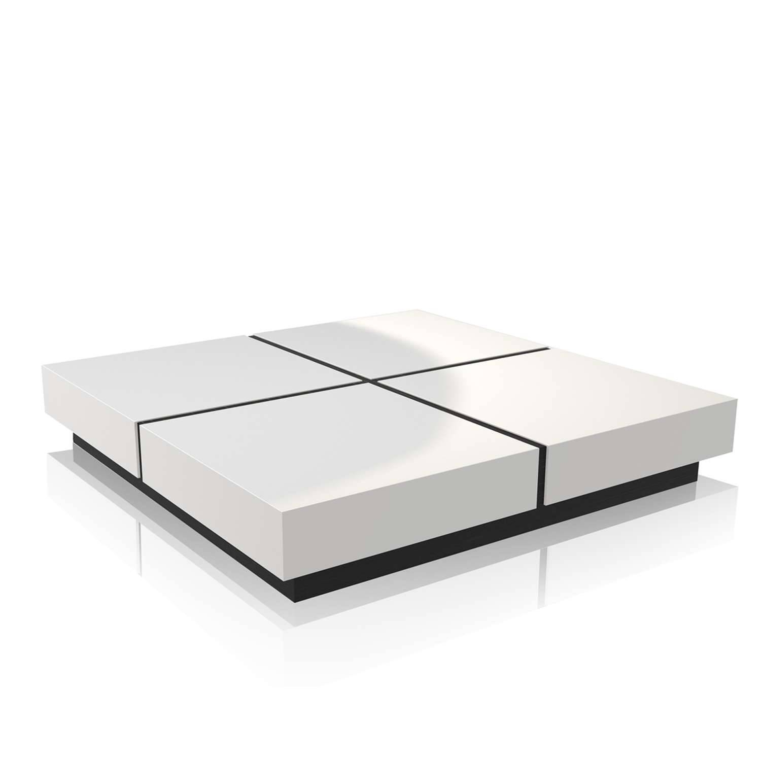 Stylish Square White Coffee Table With Coffee Table White Square pertaining to White Square Coffee Table (Image 27 of 30)