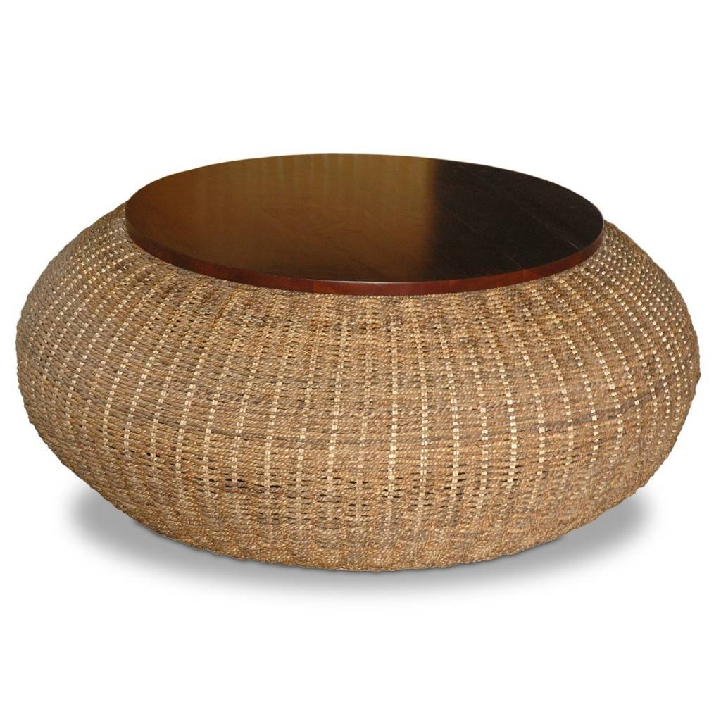 Stylish Woven Coffee Table | Coffee Table Review with regard to Round Woven Coffee Tables (Image 25 of 30)