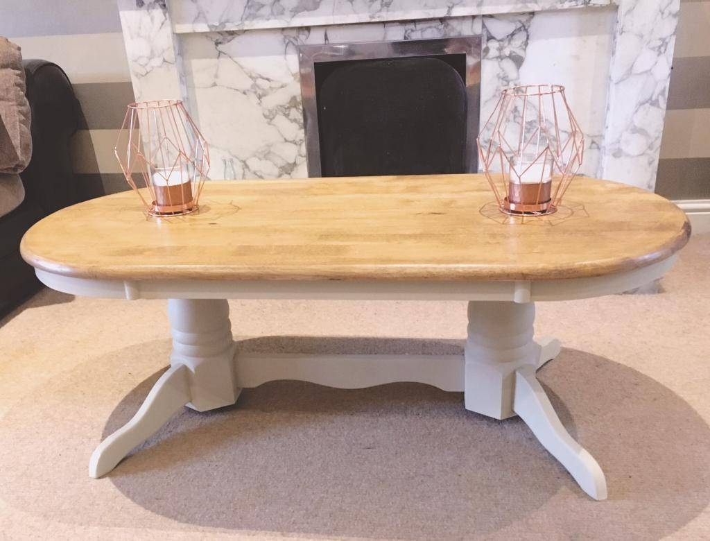 Summer Oak And Cream Coffee Table | In Ruddington, Nottinghamshire within Cream and Oak Coffee Tables (Image 29 of 30)