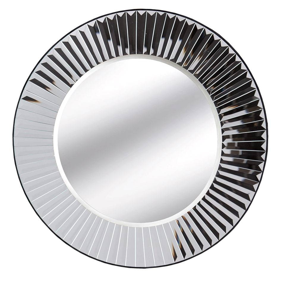 Sunburst Round Mirror - Uber Interiors; Luxury Furniture pertaining to Black Round Mirrors (Image 23 of 25)