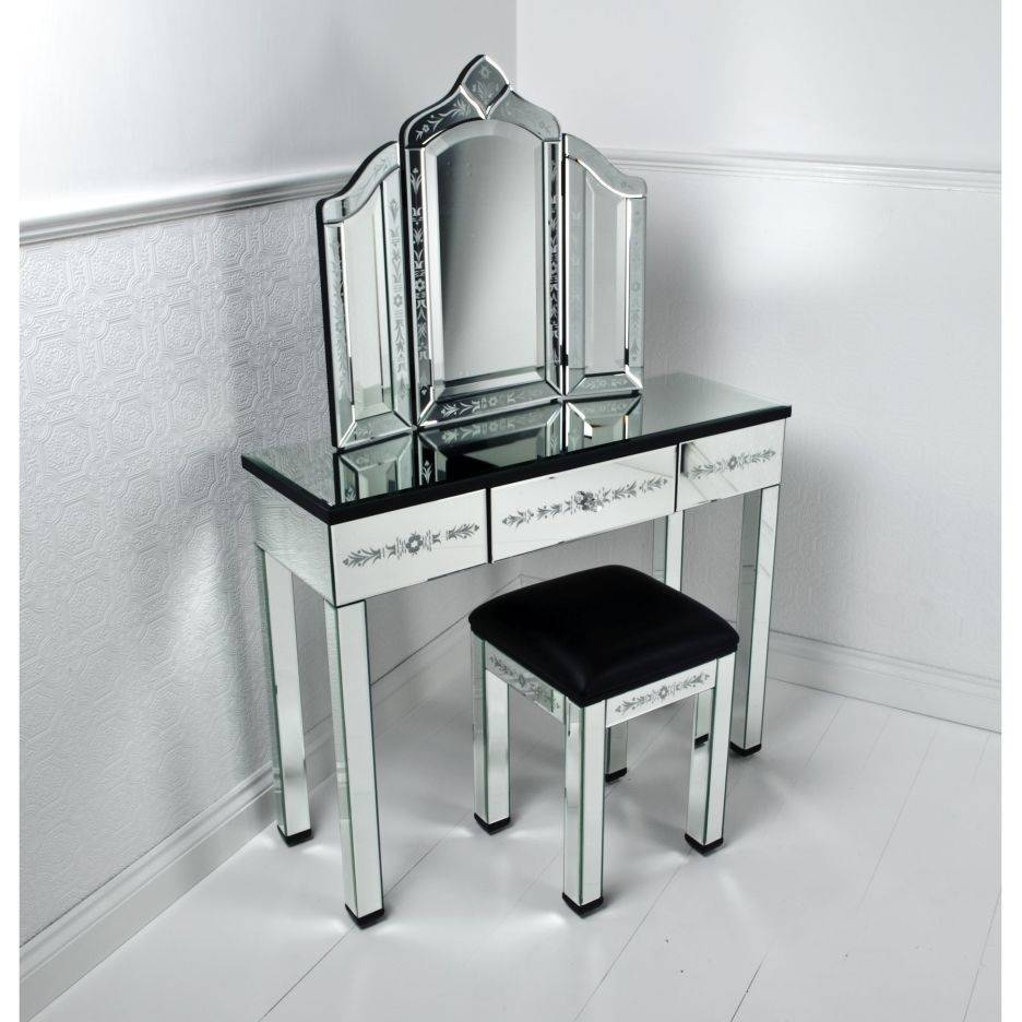 Surprising Vanity Dressing Table With Drawers Gallery - Best Image with regard to Contemporary Dressing Table Mirrors (Image 25 of 25)