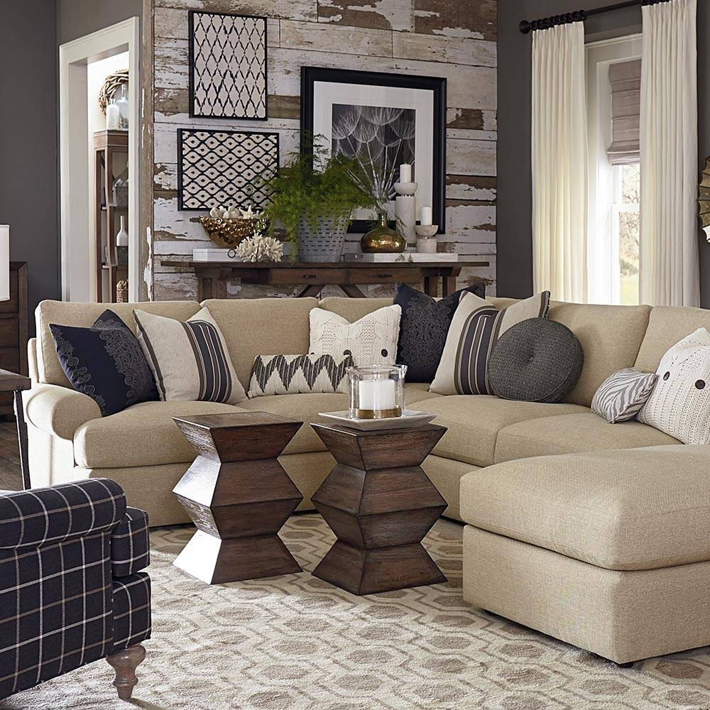 Sutton U-Shape Sectional Sofa | Living Room | Bassett Furniture throughout Bassett Sectional Sofa (Image 27 of 30)