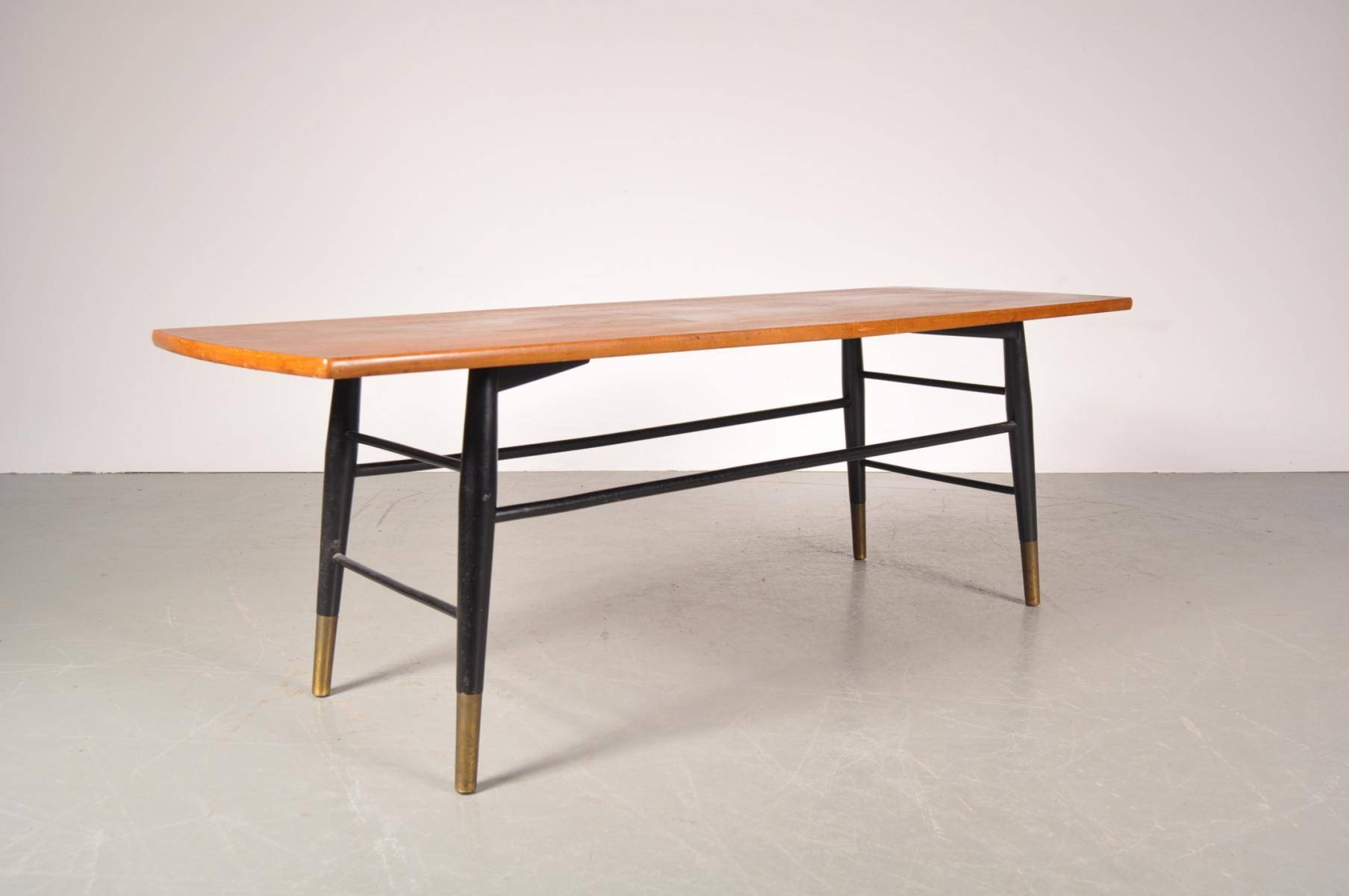 Swedish Coffee Table With Birch Top From Tingströms, 1950S For within Birch Coffee Tables (Image 24 of 30)