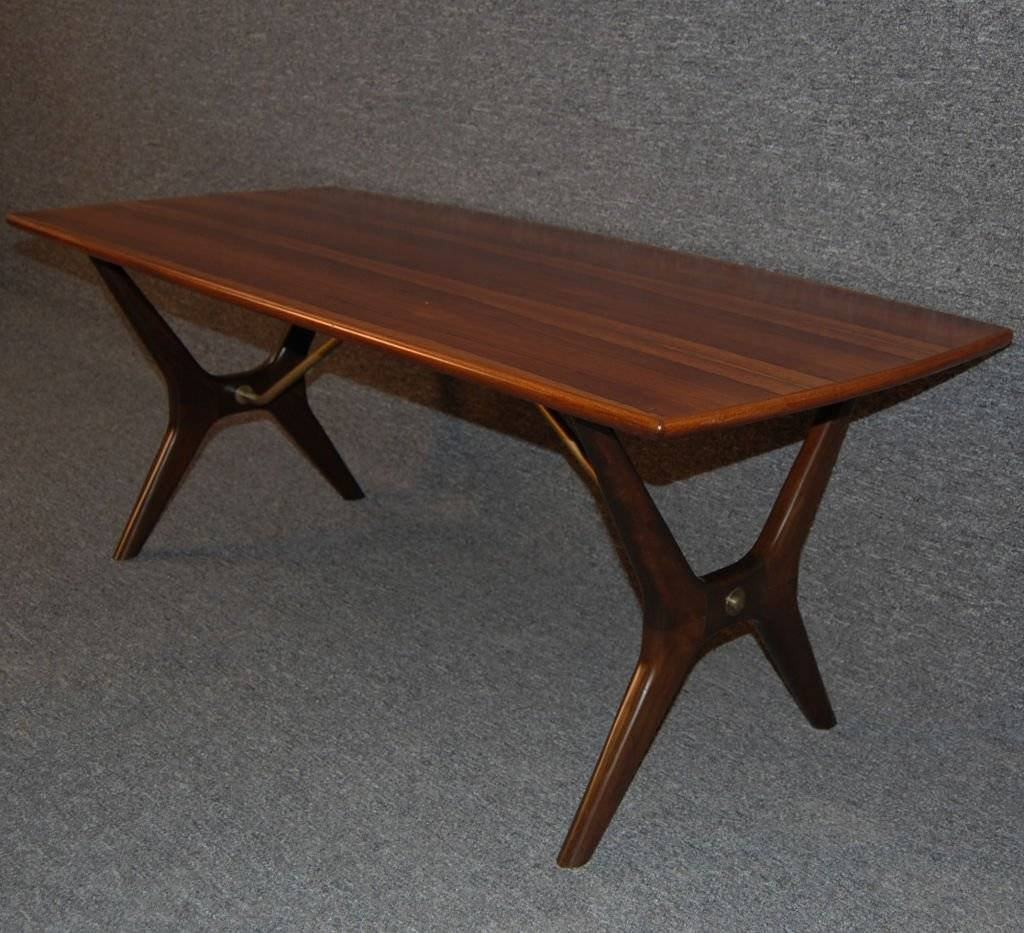 Swedish Mid-Century Modern Rosewood And Birch Coffee Table At 1Stdibs for Birch Coffee Tables (Image 25 of 30)