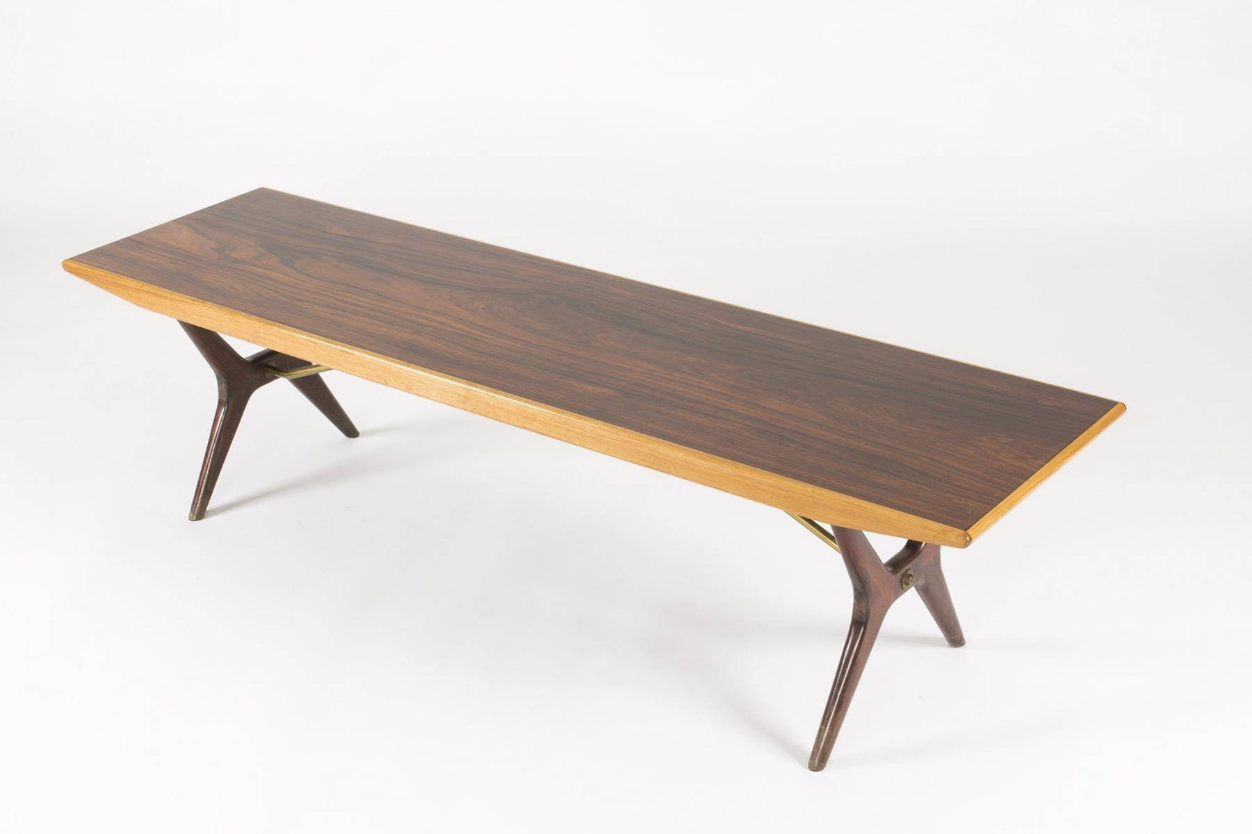 Swedish Rosewood & Birch Coffee Tablekarl-Erik Ekselius For in Birch Coffee Tables (Image 26 of 30)