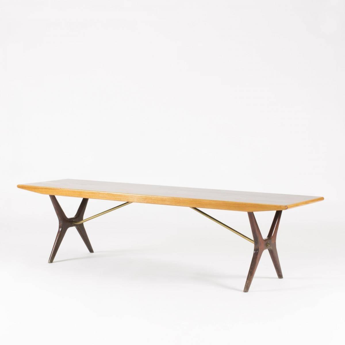 Swedish Rosewood & Birch Coffee Tablekarl-Erik Ekselius For regarding Birch Coffee Tables (Image 27 of 30)