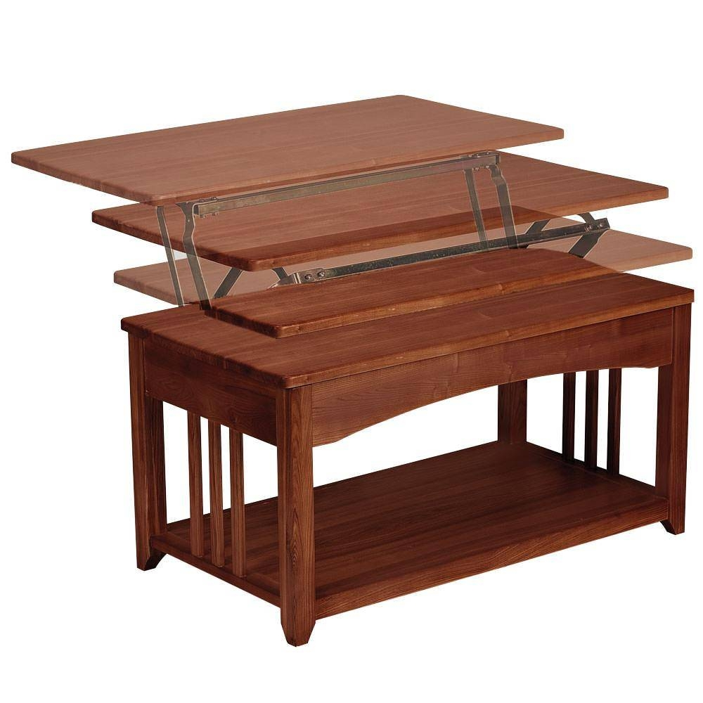 Swing Up Coffee Table – Walnut – Direcsource Ltd D32 0002 Intended For Swing Up Coffee Tables (View 29 of 30)