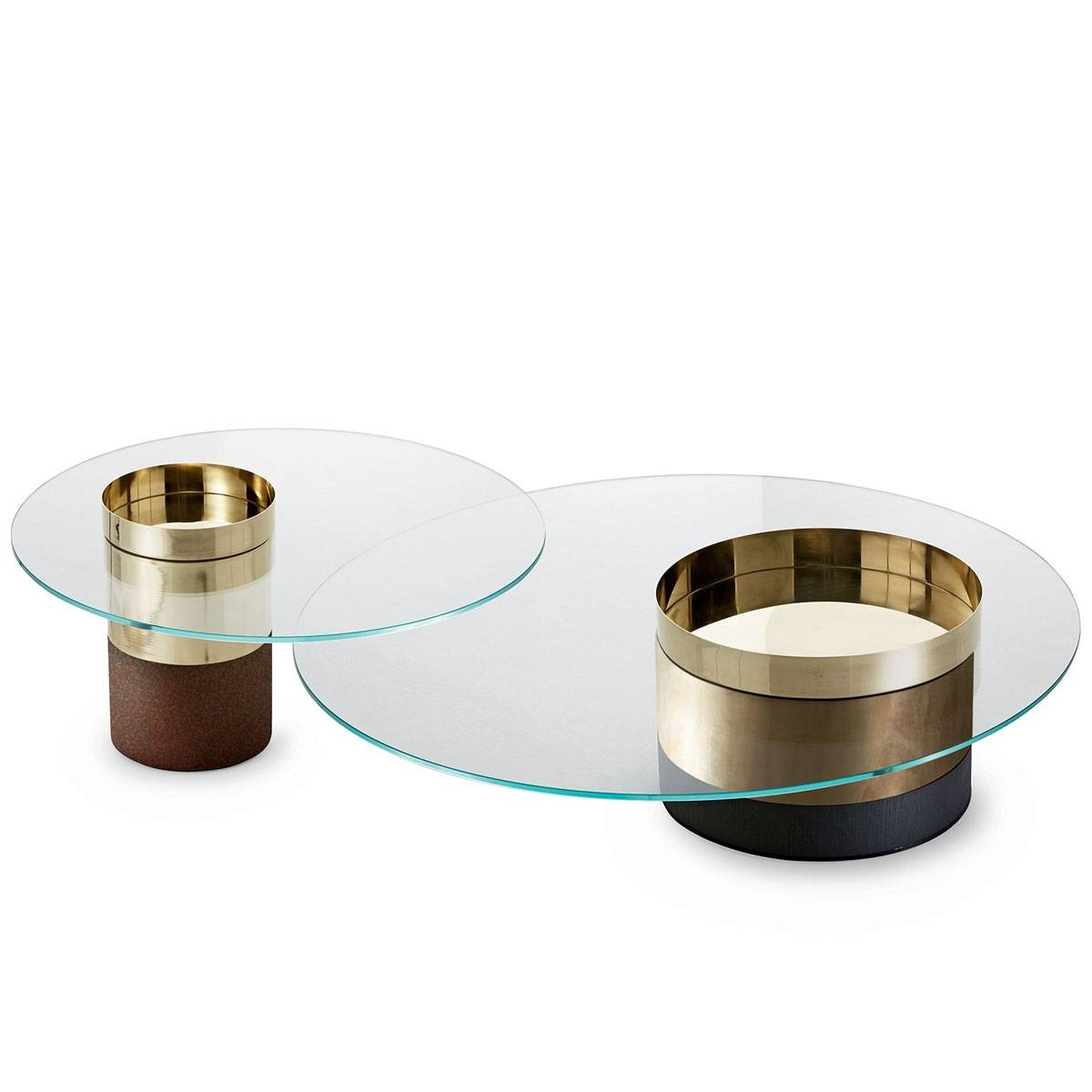 Swirl Coffee Table Tom Schneider Touch Of Modern Clear Glass within Swirl Glass Coffee Tables (Image 19 of 30)