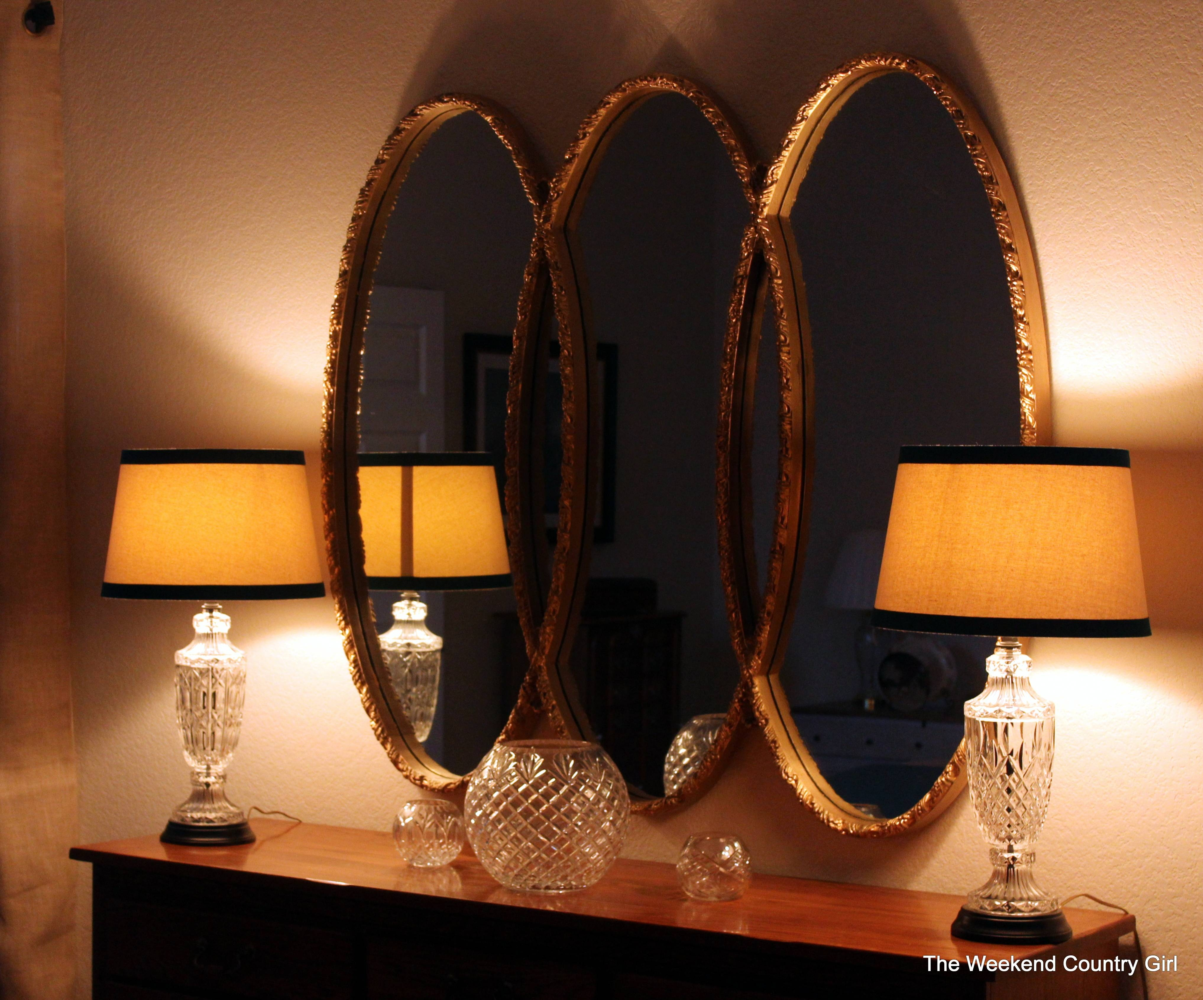 Syroco Triple Oval Mirror | The Weekend Country Girl with Triple Oval Mirrors (Image 22 of 25)