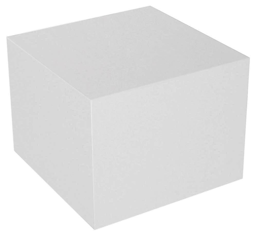 Table: Acrylic Cube Table pertaining to White Cube Coffee Tables (Image 28 of 30)