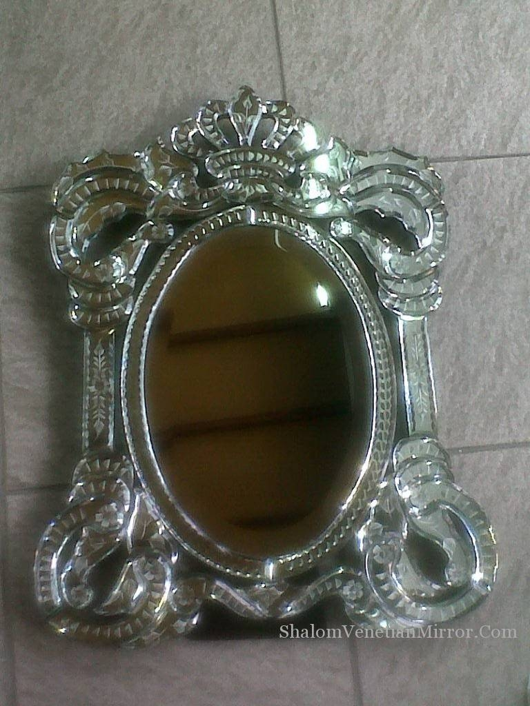 Table Mirror Stm – 023 | Shalom Venetian Mirror in Venetian Table Mirrors (Image 15 of 25)
