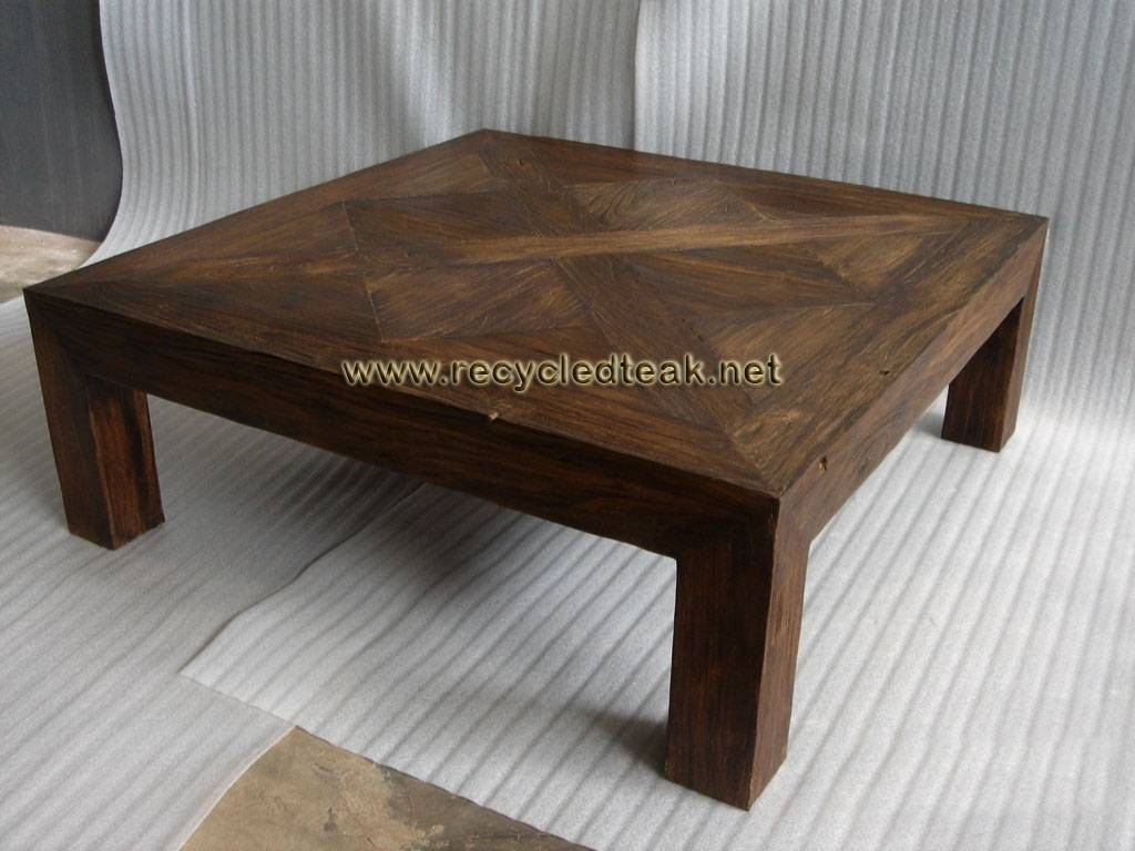 Table Rustic Coffee Plans Style Large Wood Midce / Thippo Regarding Extra Large Rustic Coffee Tables (View 5 of 30)