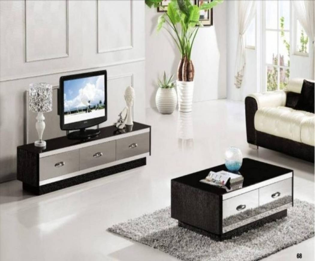 30 the best matching tv unit and coffee tables Coffee table tv stand set