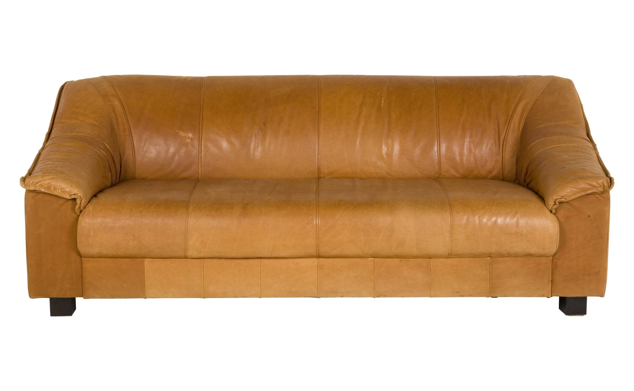 Tan Leather Sofa with regard to Light Tan Leather Sofas (Image 28 of 30)