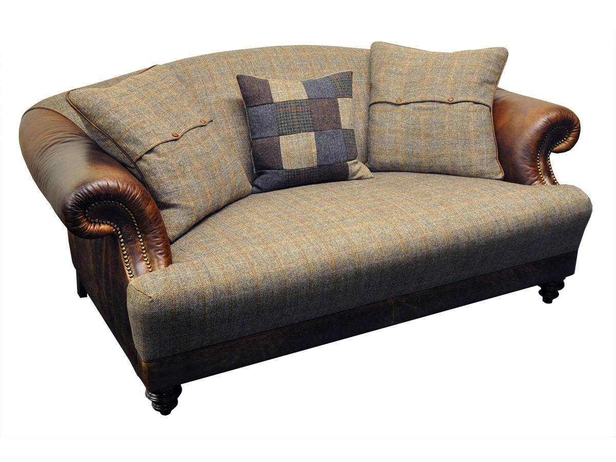 Taransay Midi Sofa - Tetrad's Harris Tweed Collection - Lpc Furniture within Tweed Fabric Sofas (Image 21 of 30)