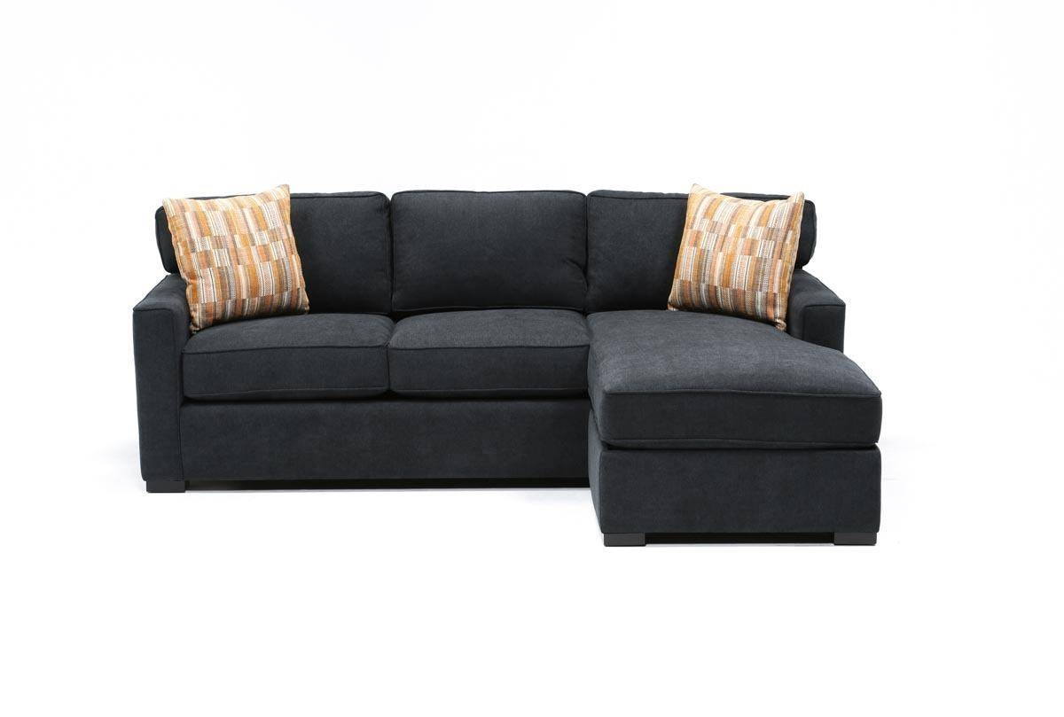 Taren Reversible Sofa/chaise Sleeper W/storage Ottoman - Living Spaces pertaining to Sofa With Chaise And Ottoman (Image 30 of 30)