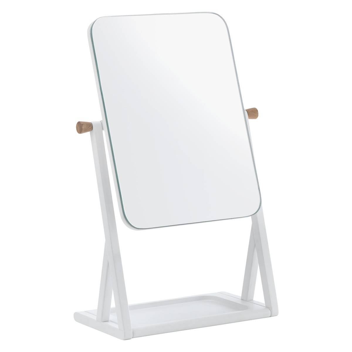 Tatsuma White Dressing Table Mirror | Buy Now At Habitat Uk in Dressing Table Mirrors (Image 22 of 25)
