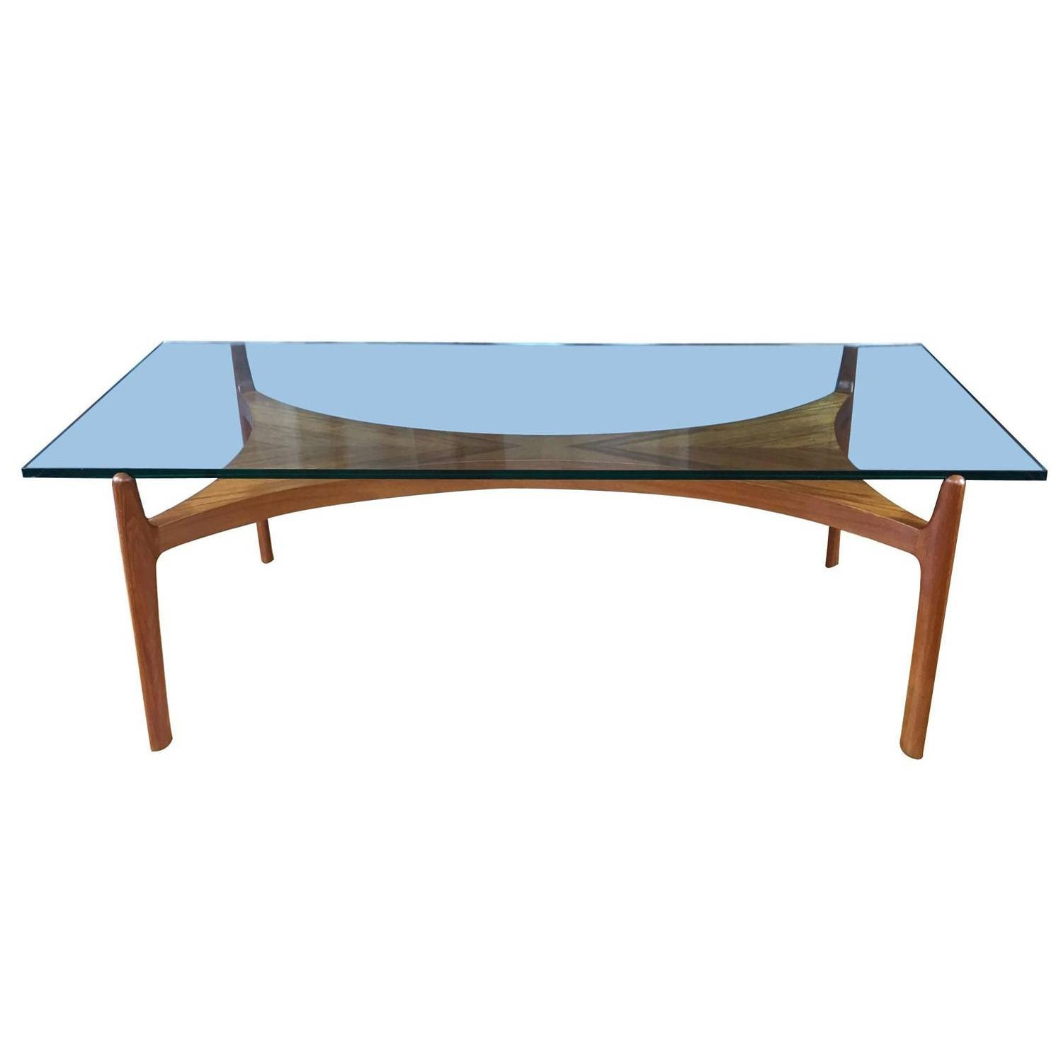 2017 Best of Retro Teak Glass Coffee Tables