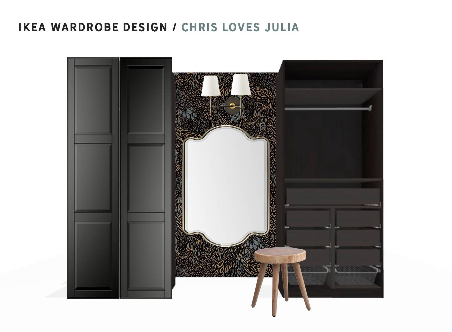 Tearing Out The Bedroom Closets! - Chris Loves Julia in Wall Wardrobes (Image 20 of 30)