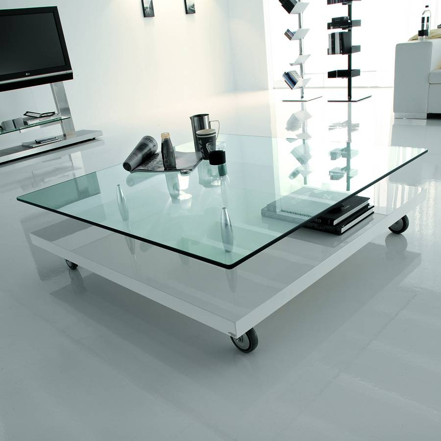 Terrific Living Room Coffee Table Design – Living Room Coffee regarding Glass Coffee Tables With Casters (Image 29 of 30)